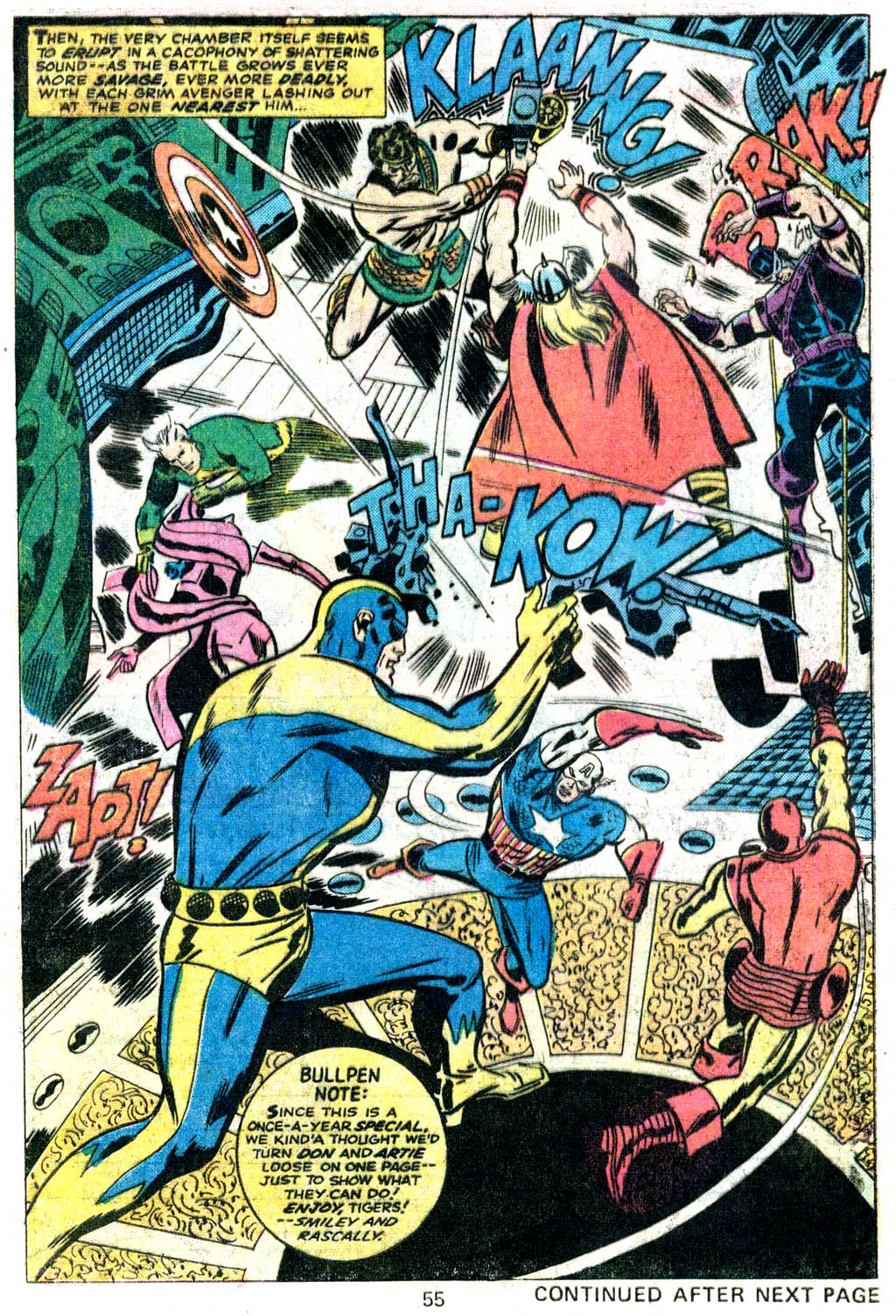 Giant-Size Avengers (1974) issue 5 - Page 46