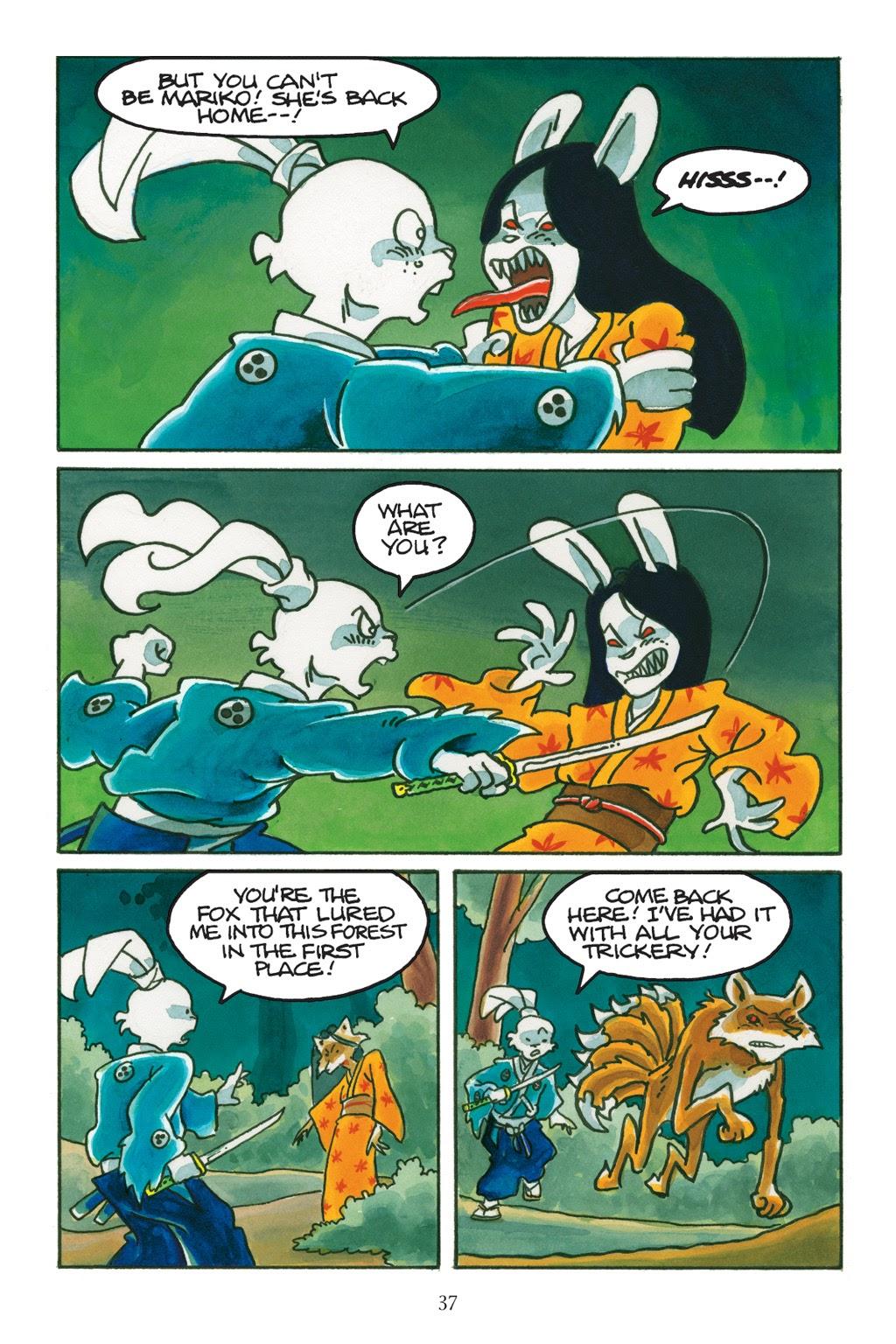 Read online Usagi Yojimbo: Yokai comic -  Issue # Full - 36
