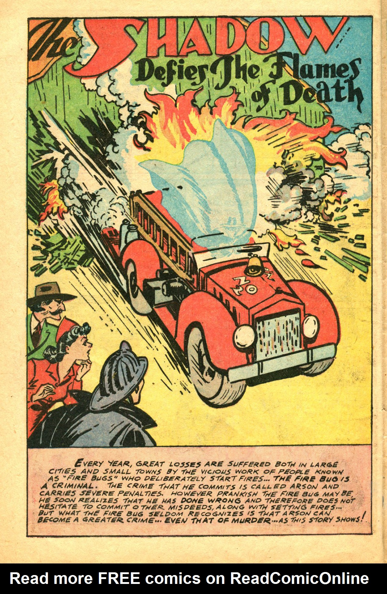 Read online Shadow Comics comic -  Issue #78 - 40
