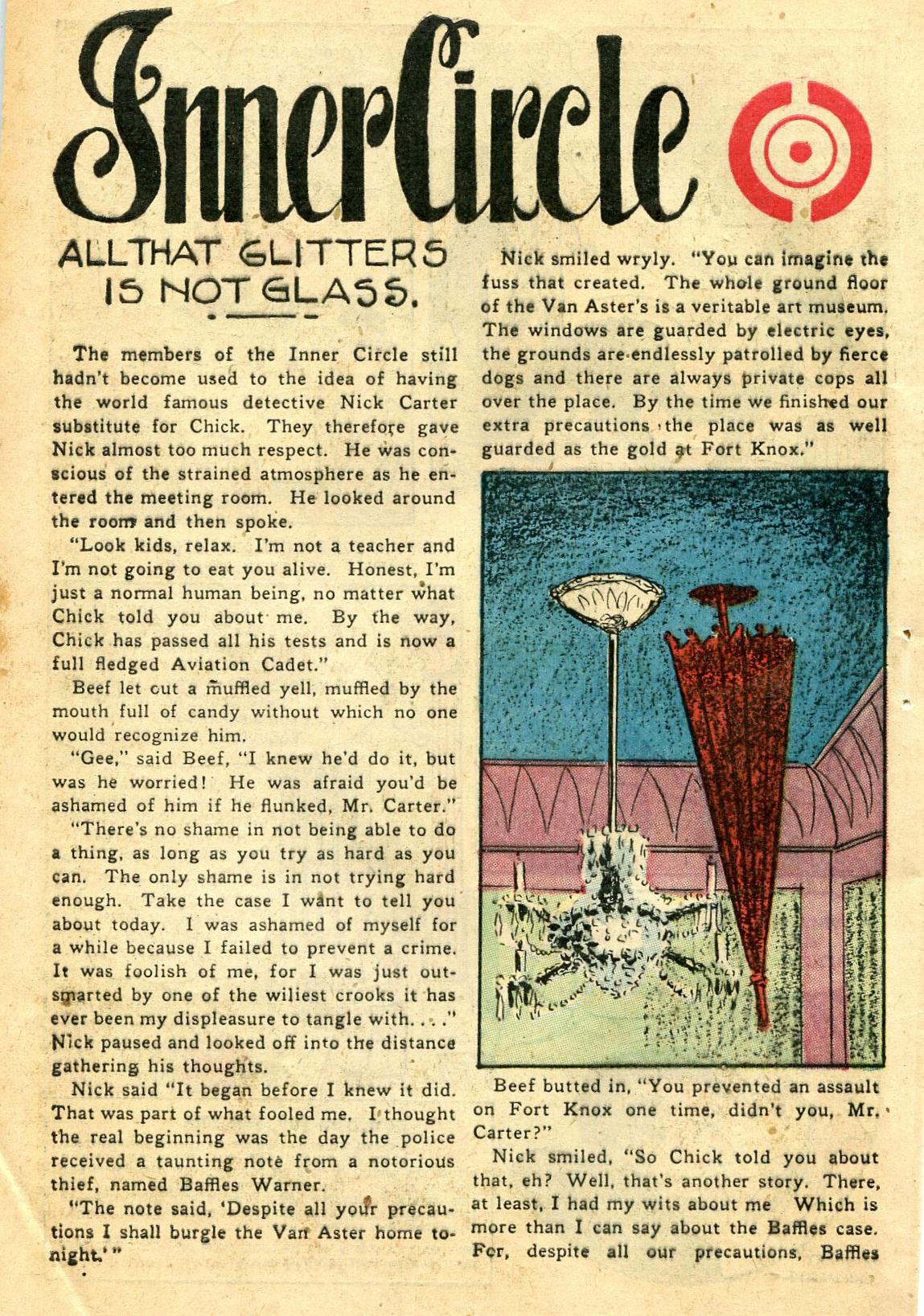 Read online Shadow Comics comic -  Issue #44 - 47