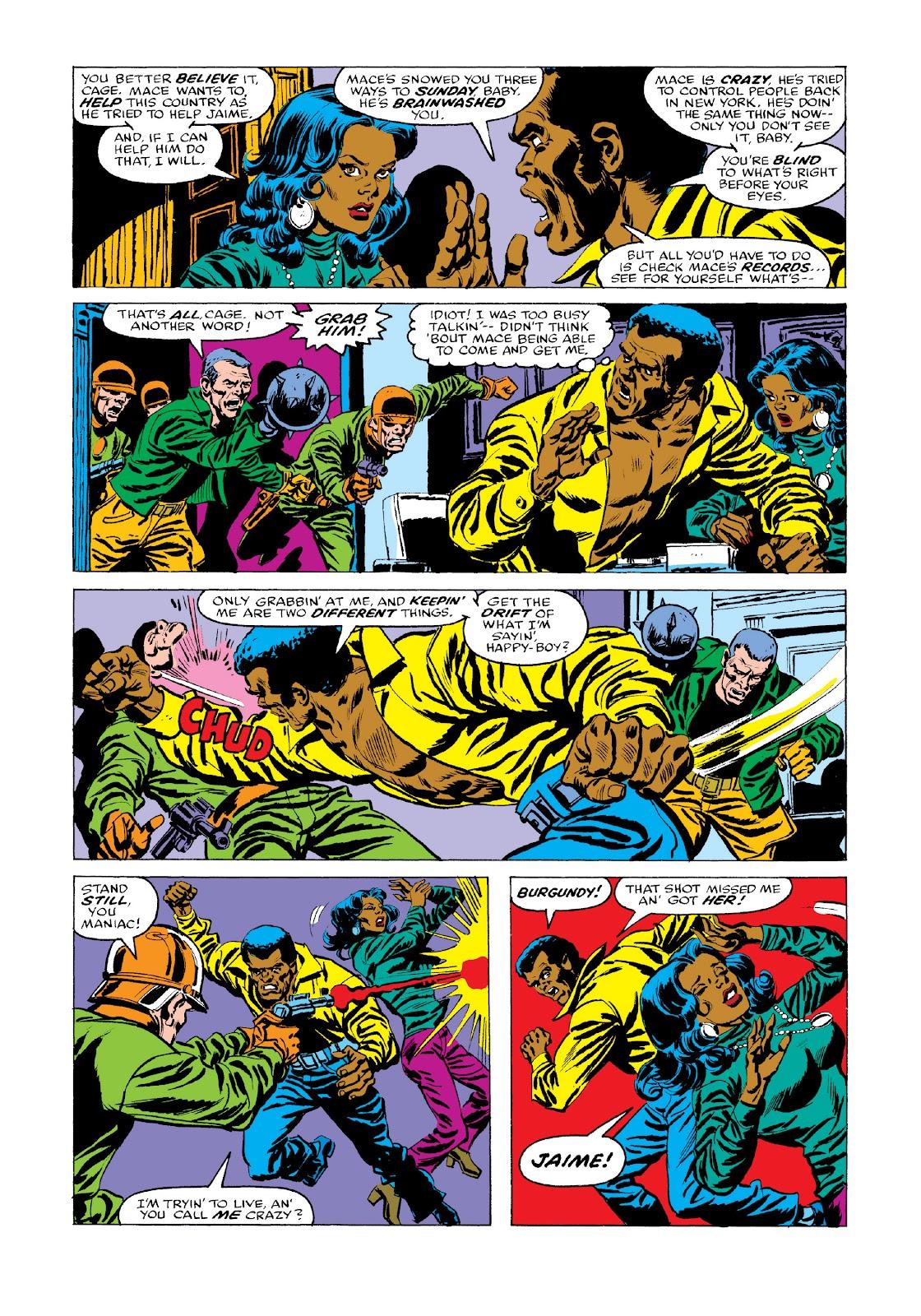Read online Marvel Masterworks: Luke Cage, Power Man comic -  Issue # TPB 3 (Part 3) - 57