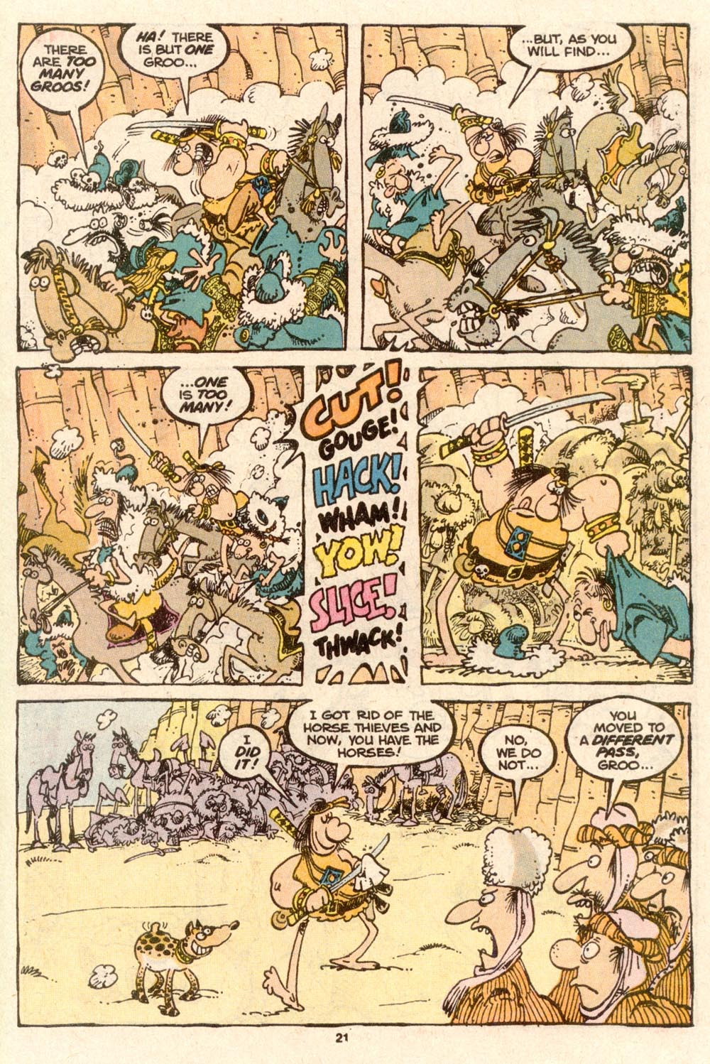 Read online Sergio Aragonés Groo the Wanderer comic -  Issue #61 - 22