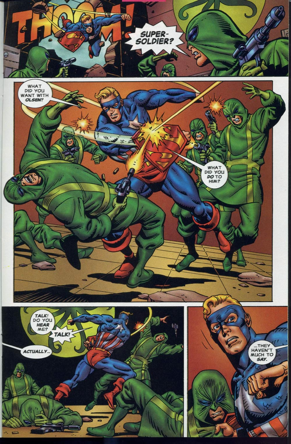 Read online Super Soldier comic -  Issue # Full - 10