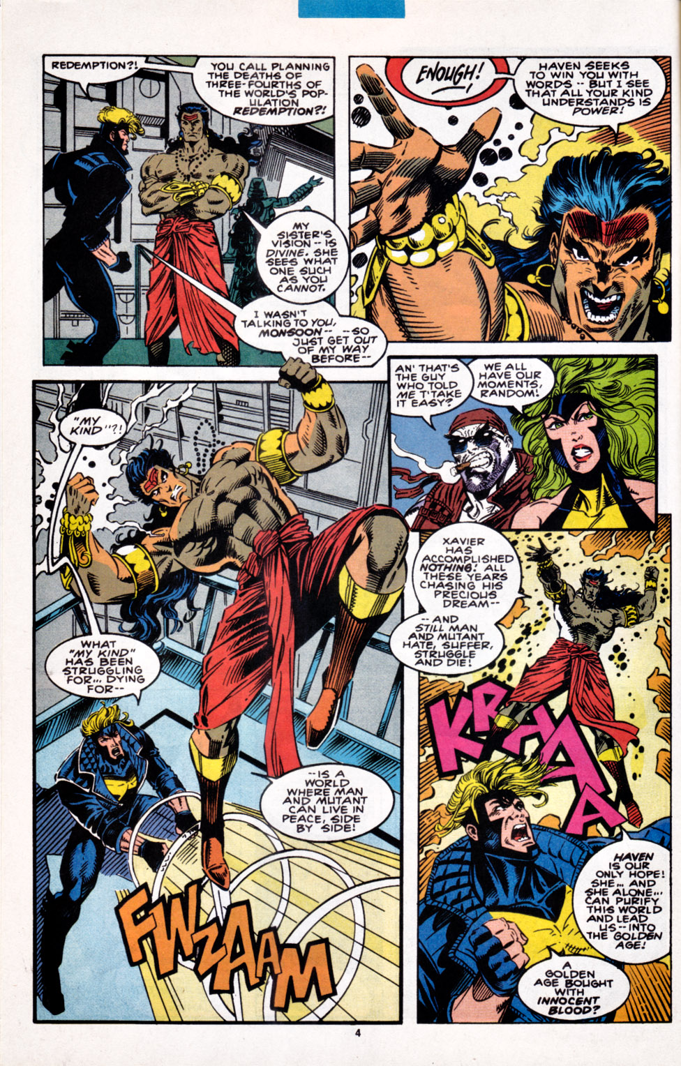 Read online X-Factor (1986) comic -  Issue #100 - 5