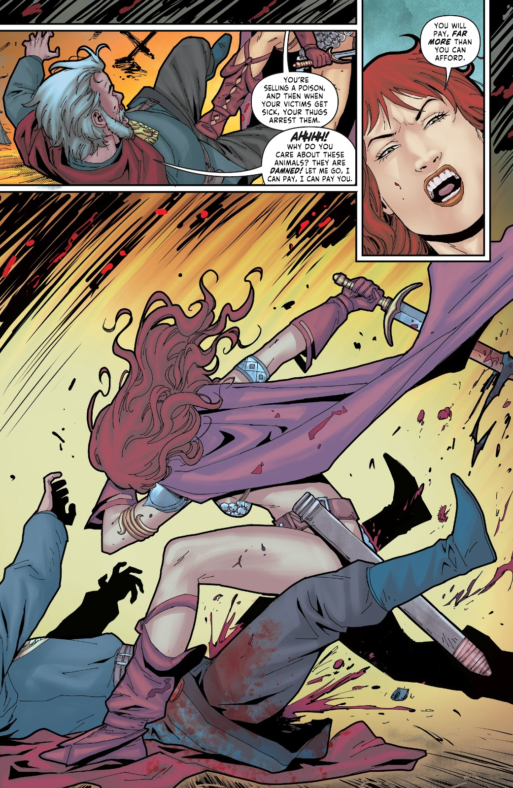 Red Sonja: The Price of Blood issue 2 - Page 27