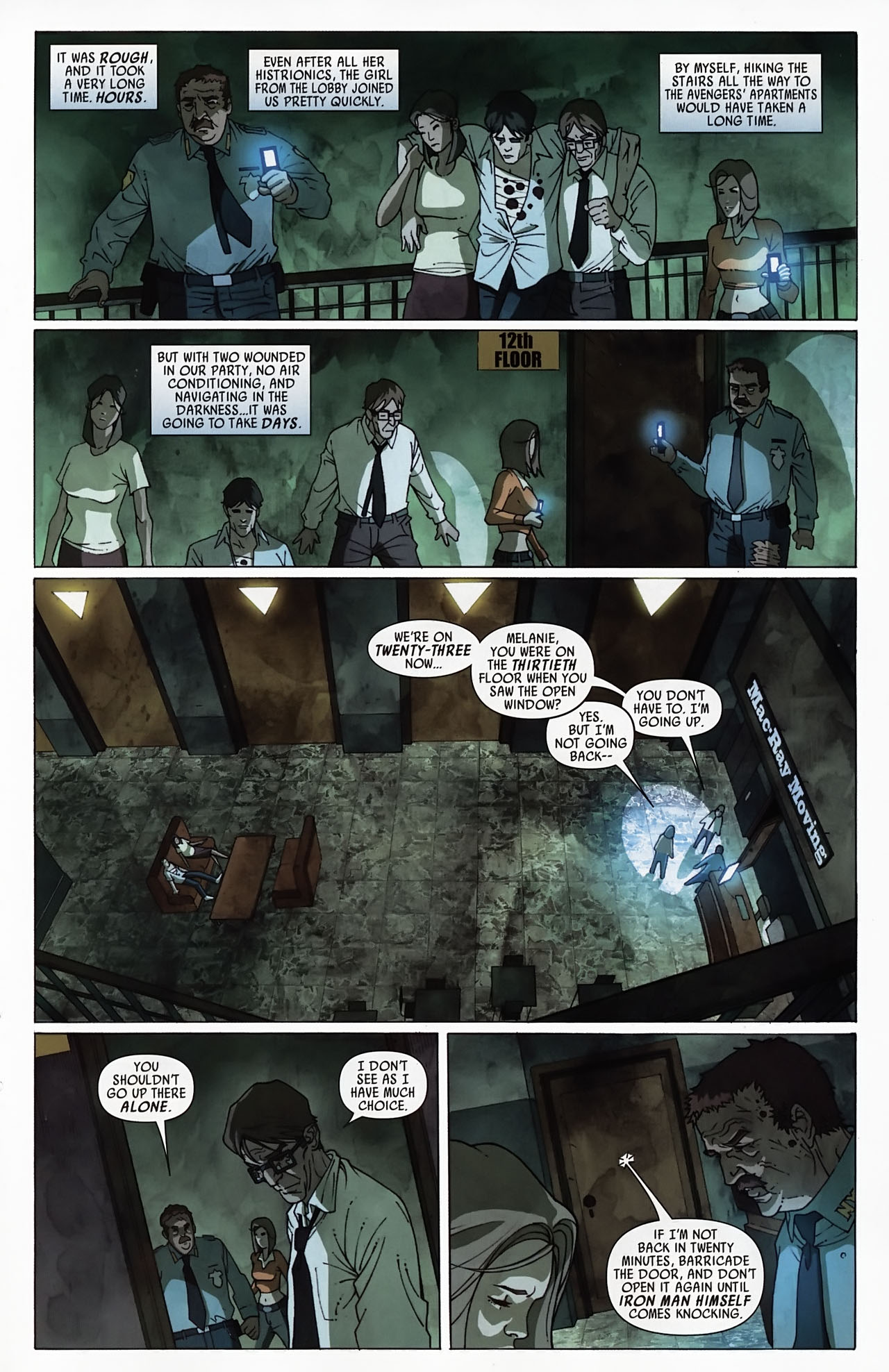 Read online Secret Invasion: Front Line comic -  Issue #4 - 18