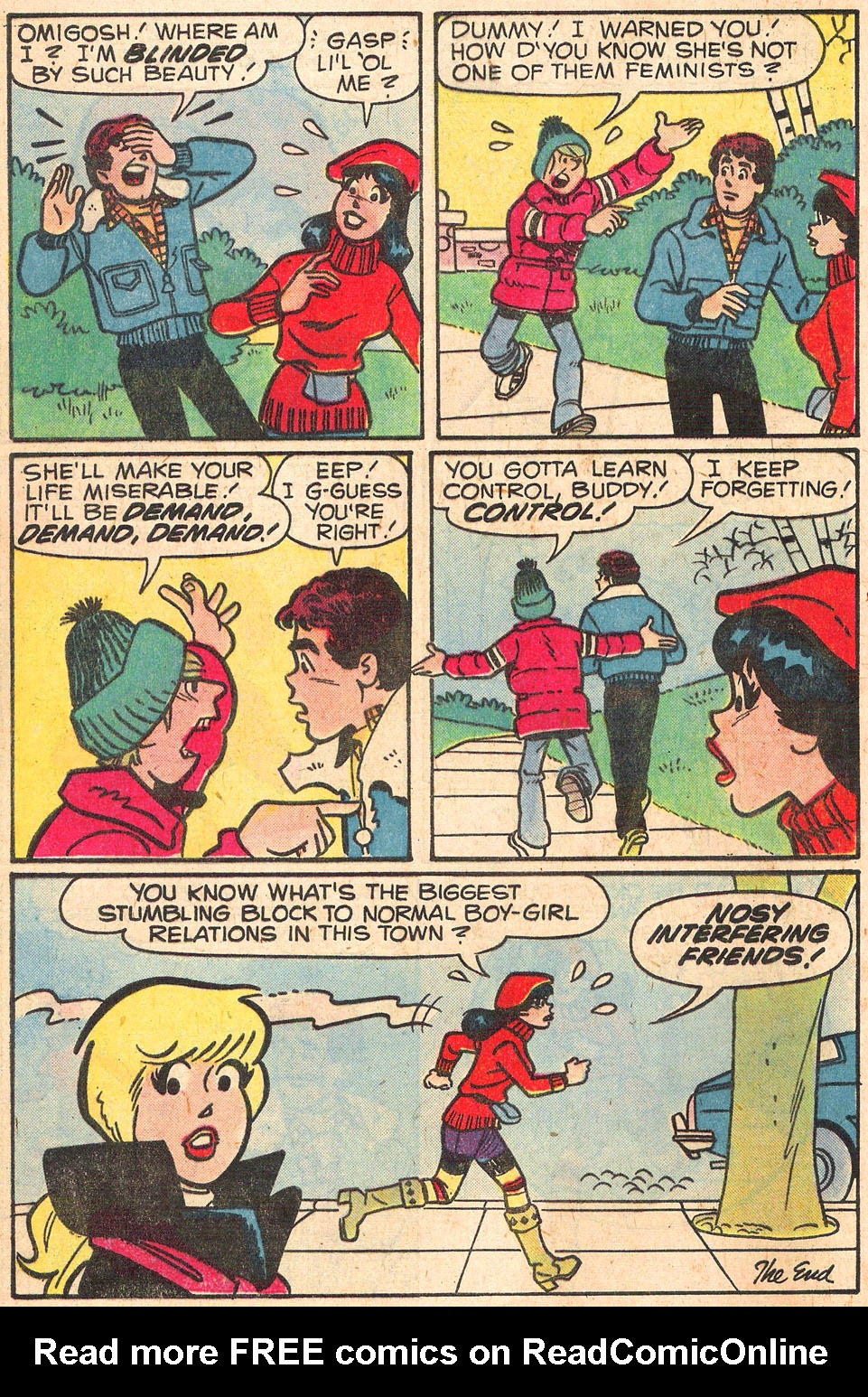 Read online Archie's Girls Betty and Veronica comic -  Issue #278 - 8