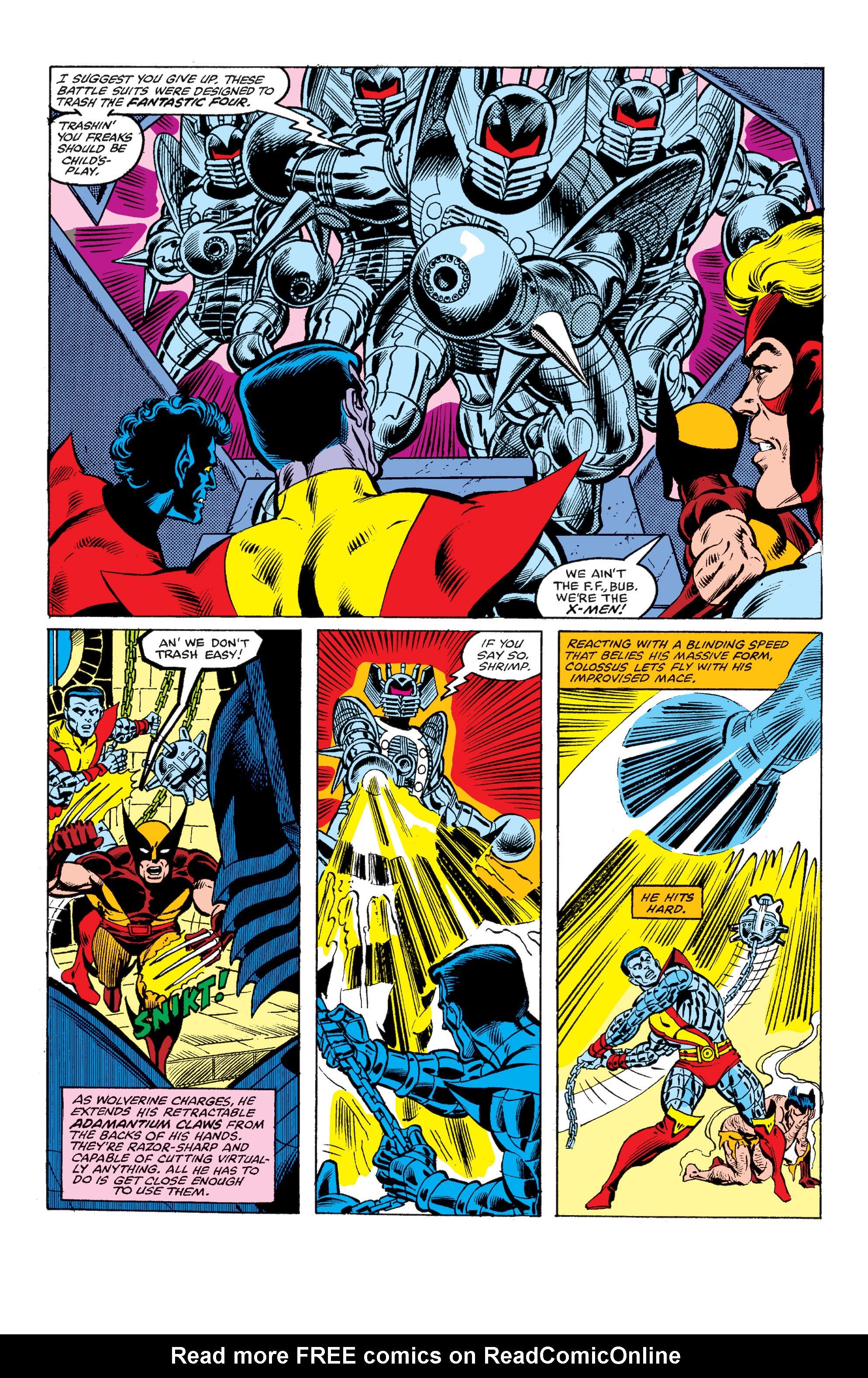 Read online Uncanny X-Men (1963) comic -  Issue #145 - 18