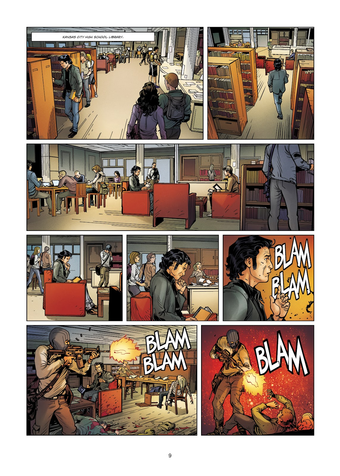 Read online Vigilantes comic -  Issue #4 - 9