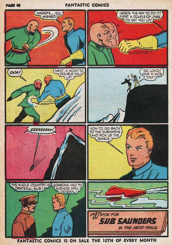 Read online Fantastic Comics comic -  Issue #20 - 62