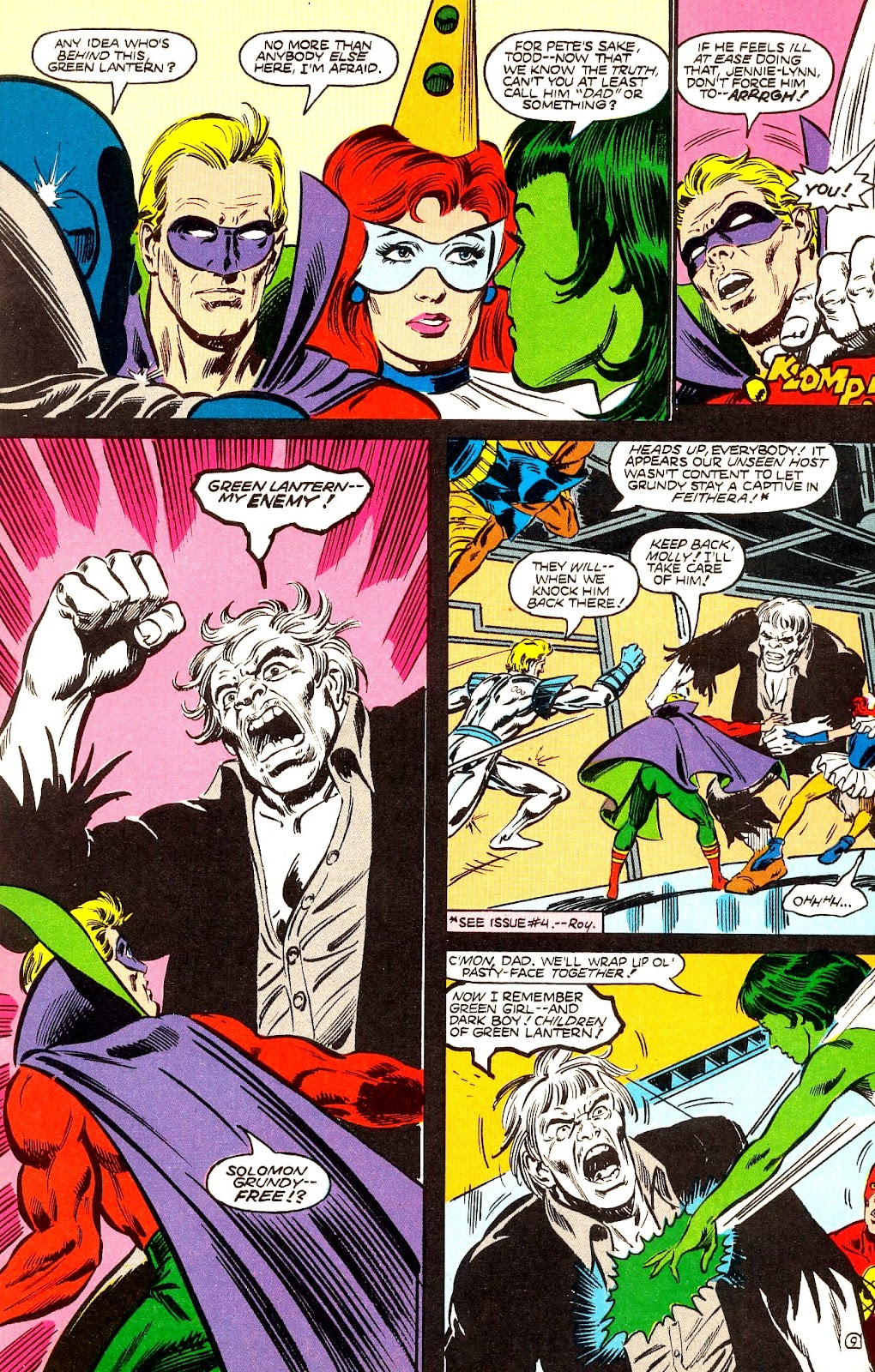 Infinity Inc. (1984) issue 22 - Page 11