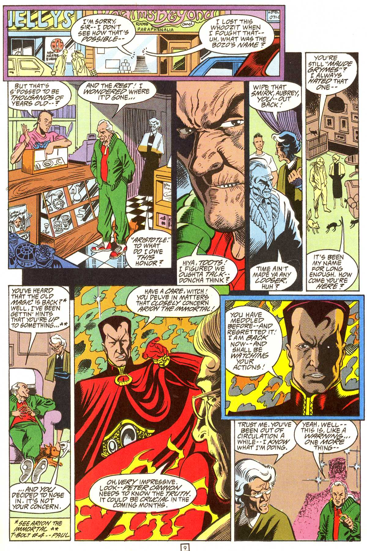 Read online Peter Cannon--Thunderbolt (1992) comic -  Issue #9 - 10