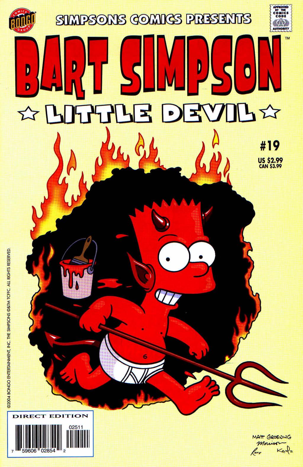 Read online Simpsons Comics Presents Bart Simpson comic -  Issue #19 - 1