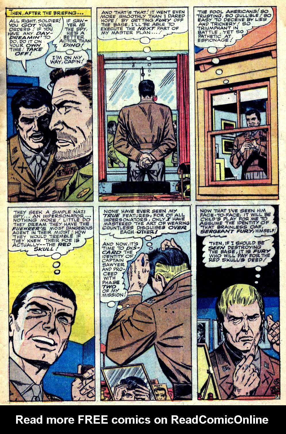 Read online Sgt. Fury comic -  Issue #25 - 5