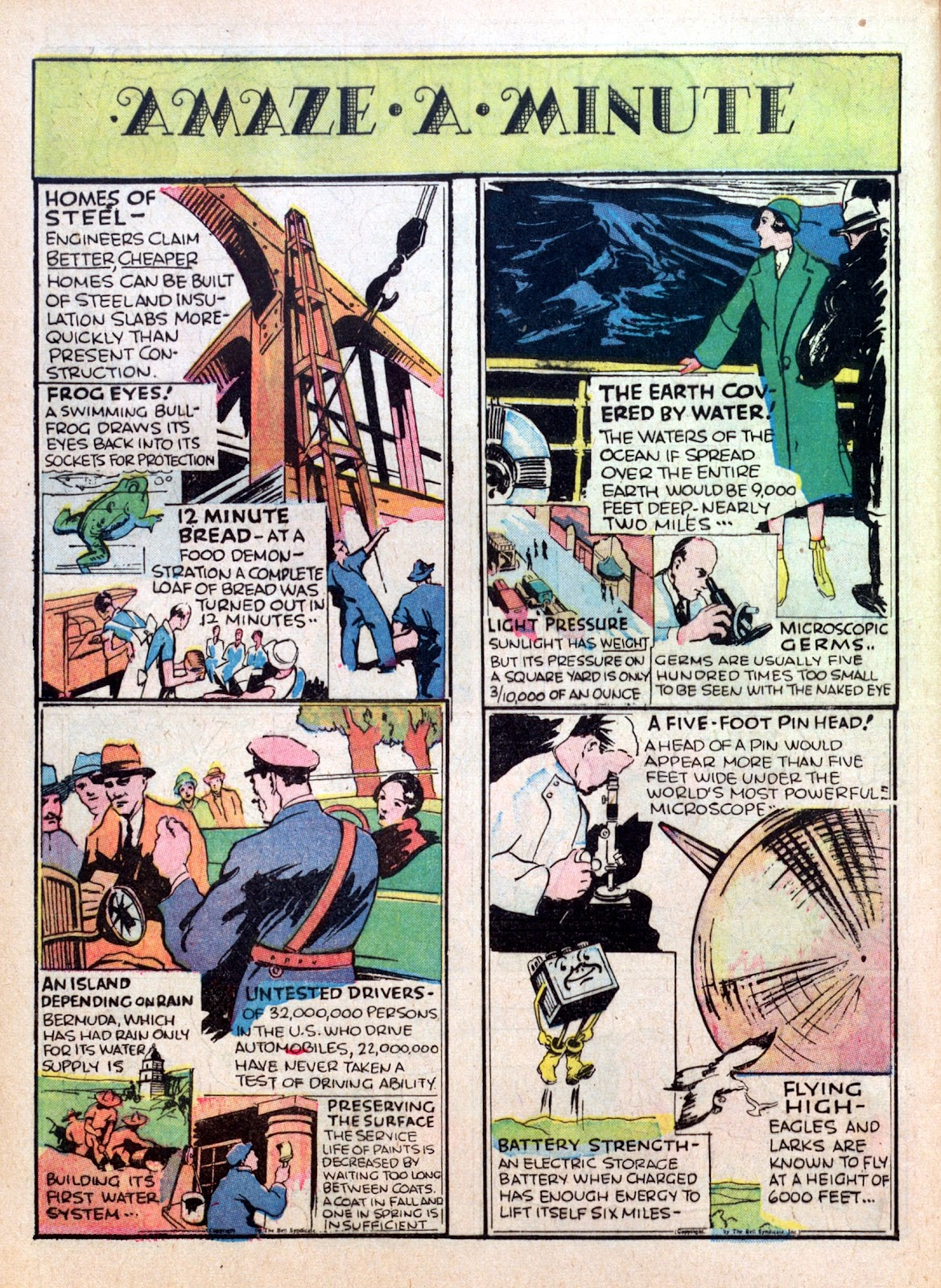 Read online Famous Funnies comic -  Issue #16 - 54
