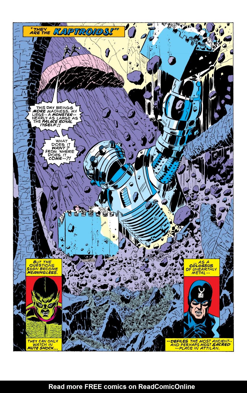 Read online Marvel Masterworks: The Inhumans comic -  Issue # TPB 2 (Part 1) - 36