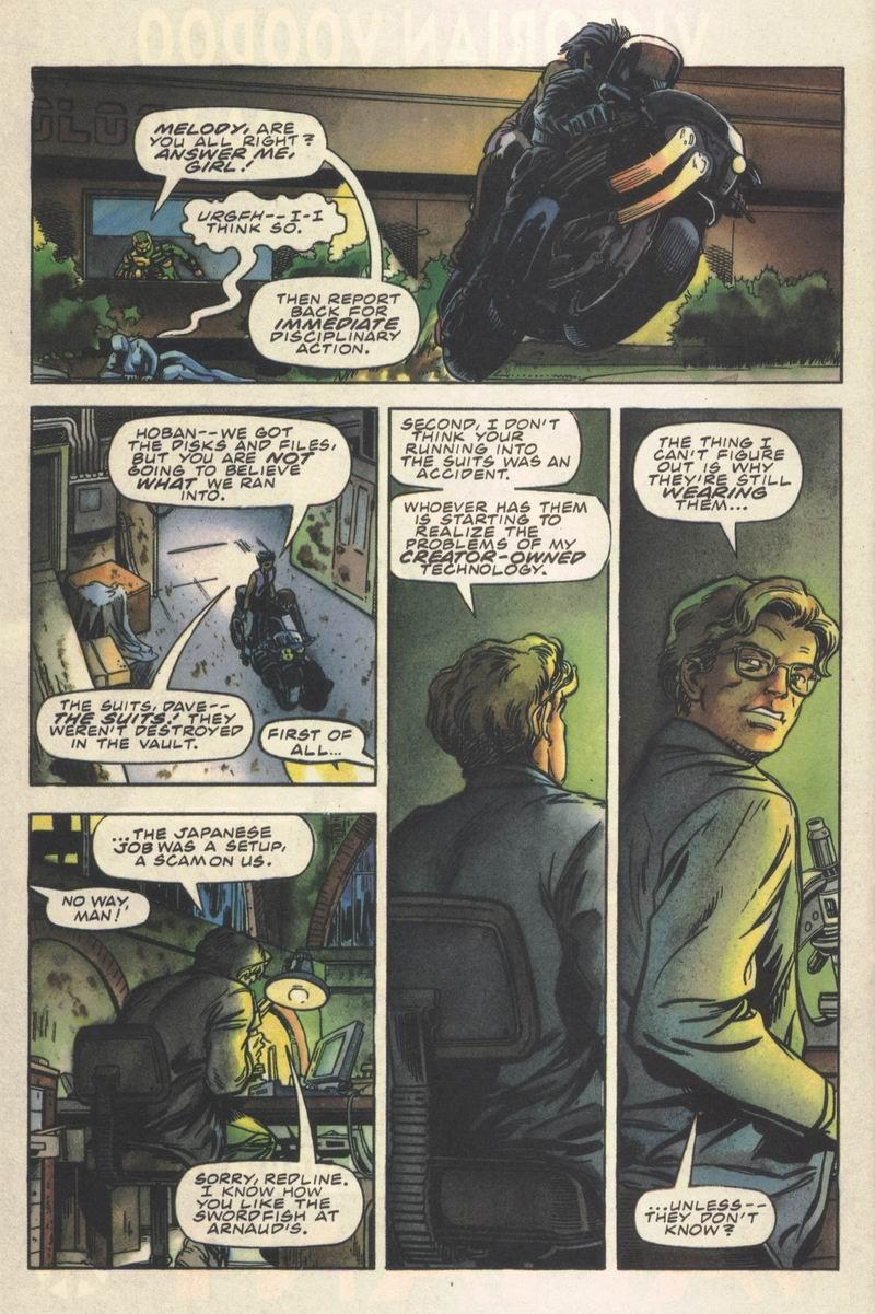Read online Secret Weapons comic -  Issue #14 - 20