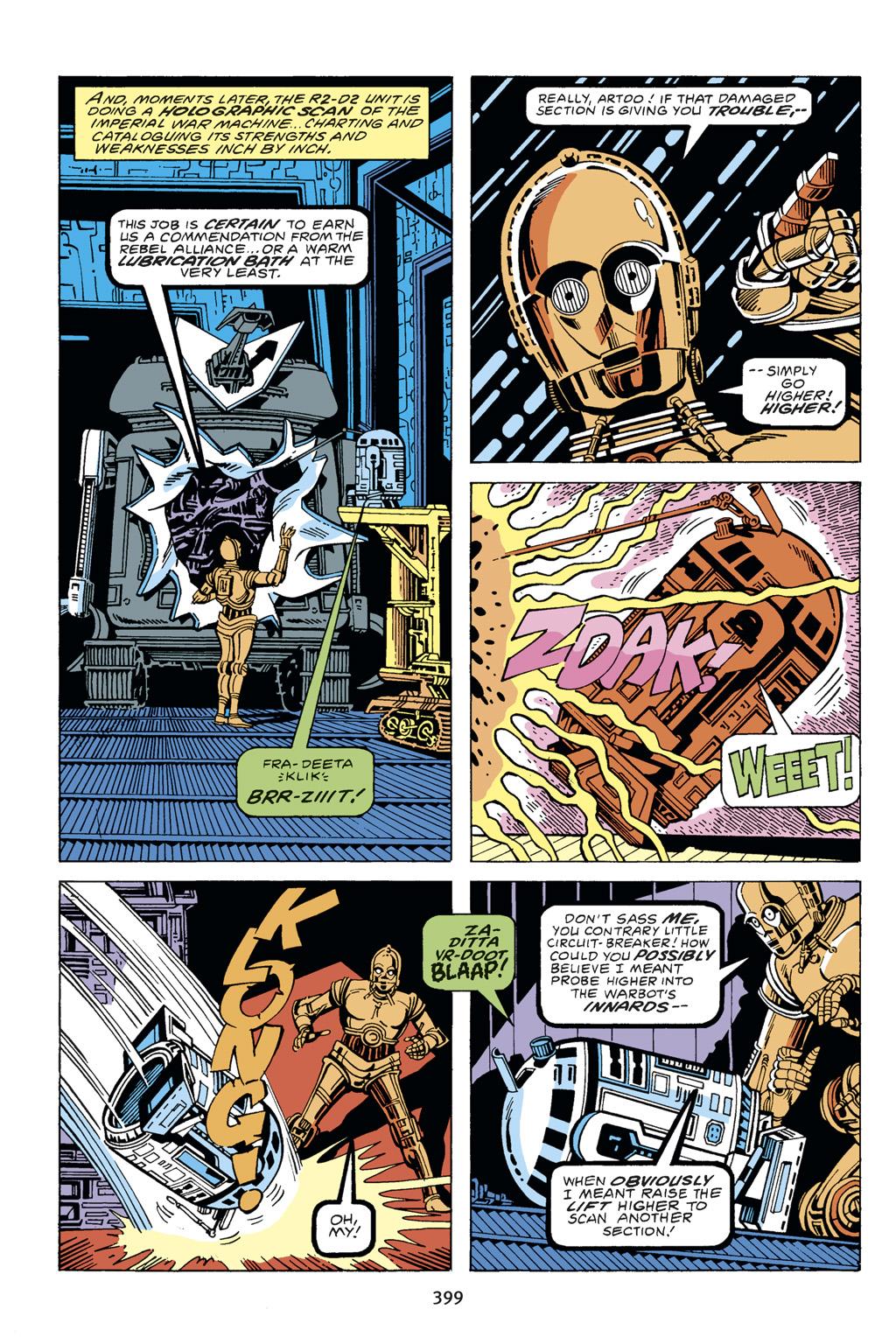 Read online Star Wars Omnibus comic -  Issue # Vol. 14 - 394