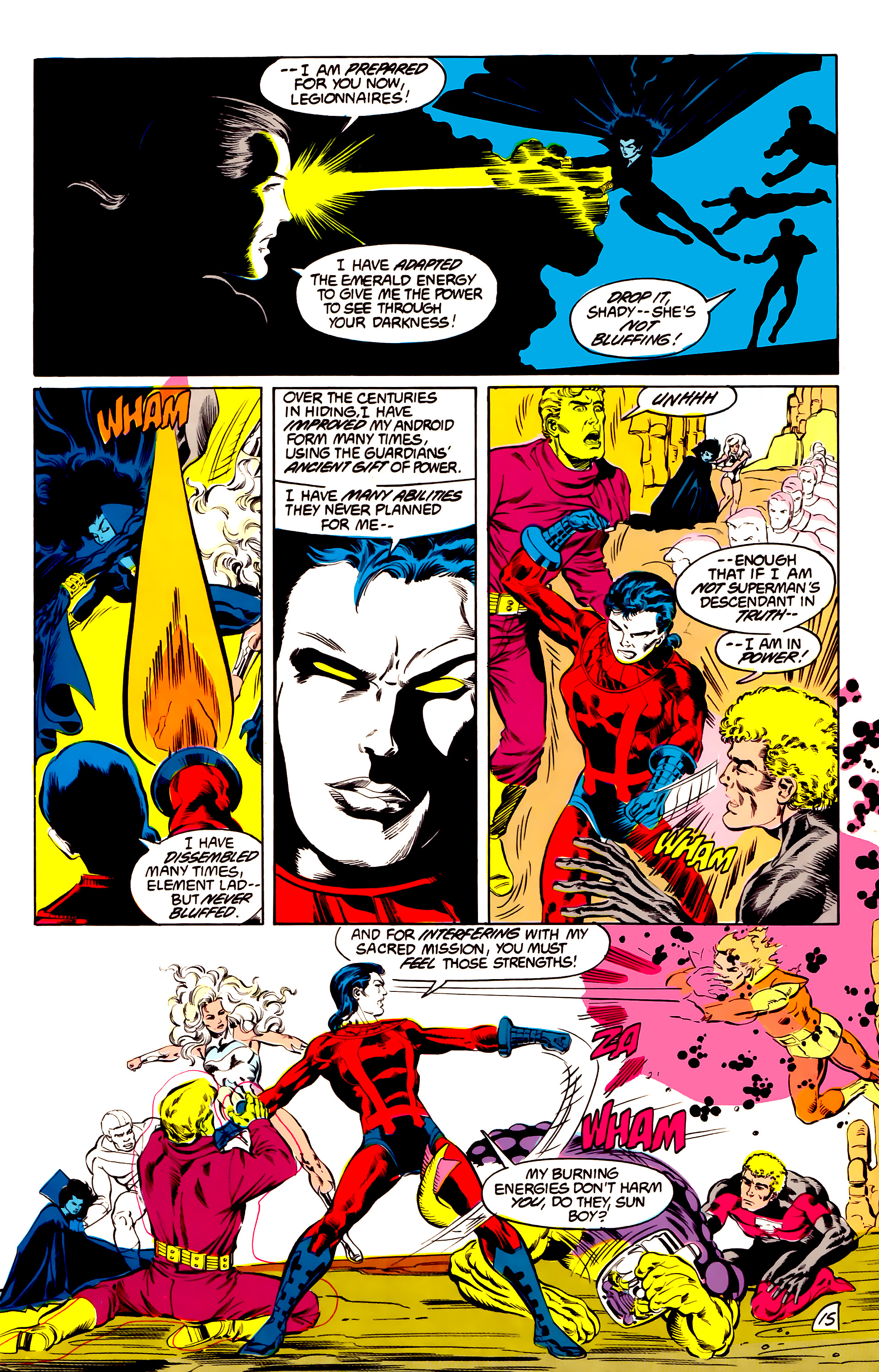 Legion of Super-Heroes (1984) 43 Page 15