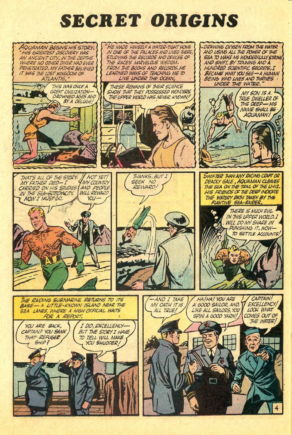 Read online Secret Origins (1973) comic -  Issue #7 - 25
