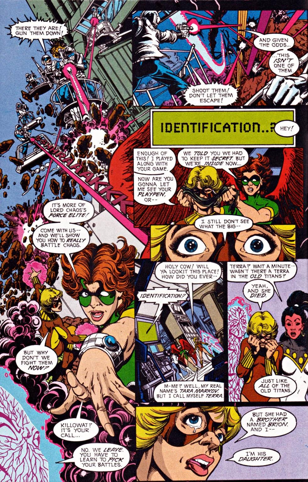 Read online Team Titans comic -  Issue #1e - 5