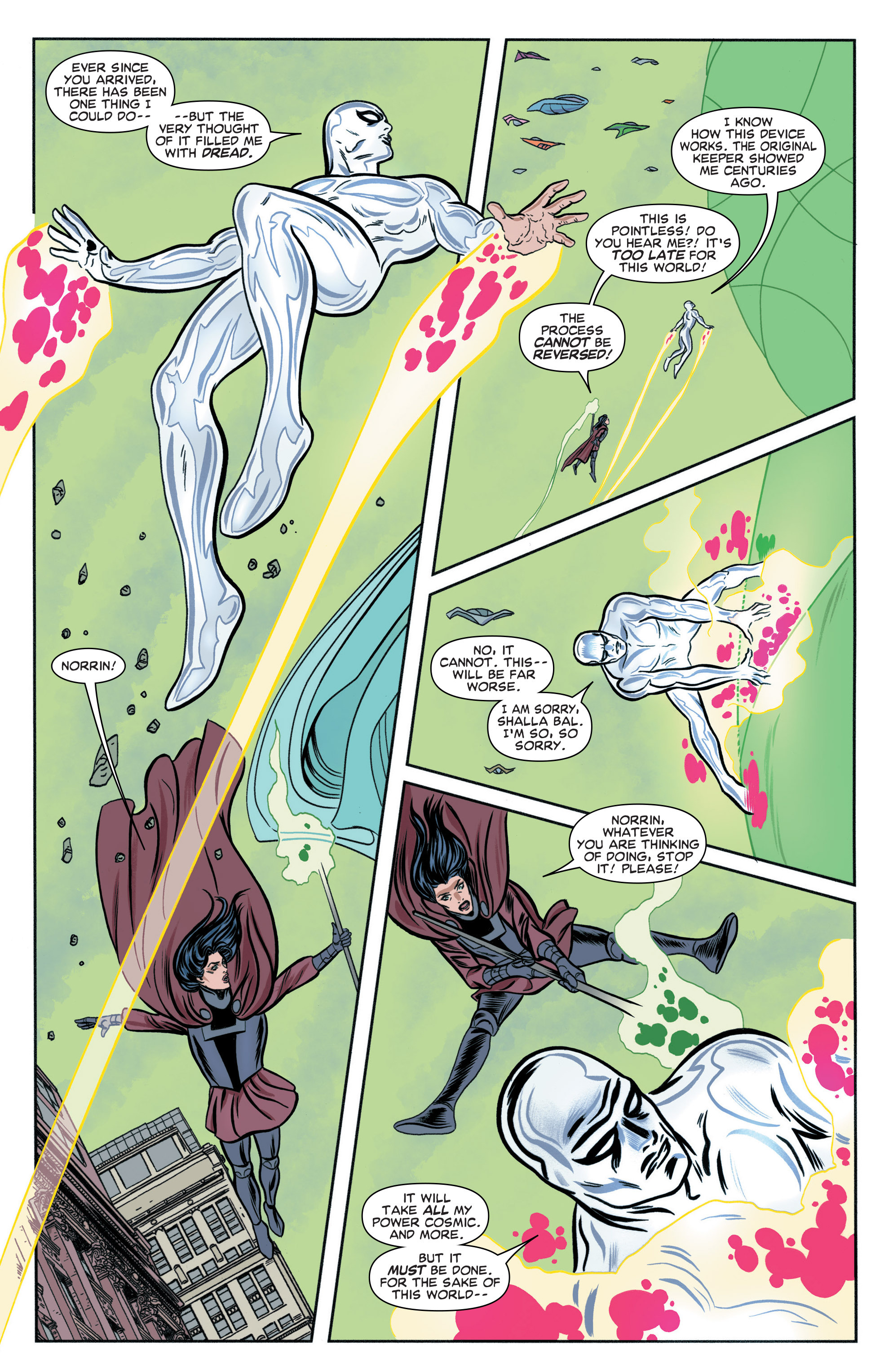 Read online Silver Surfer (2016) comic -  Issue #3 - 17