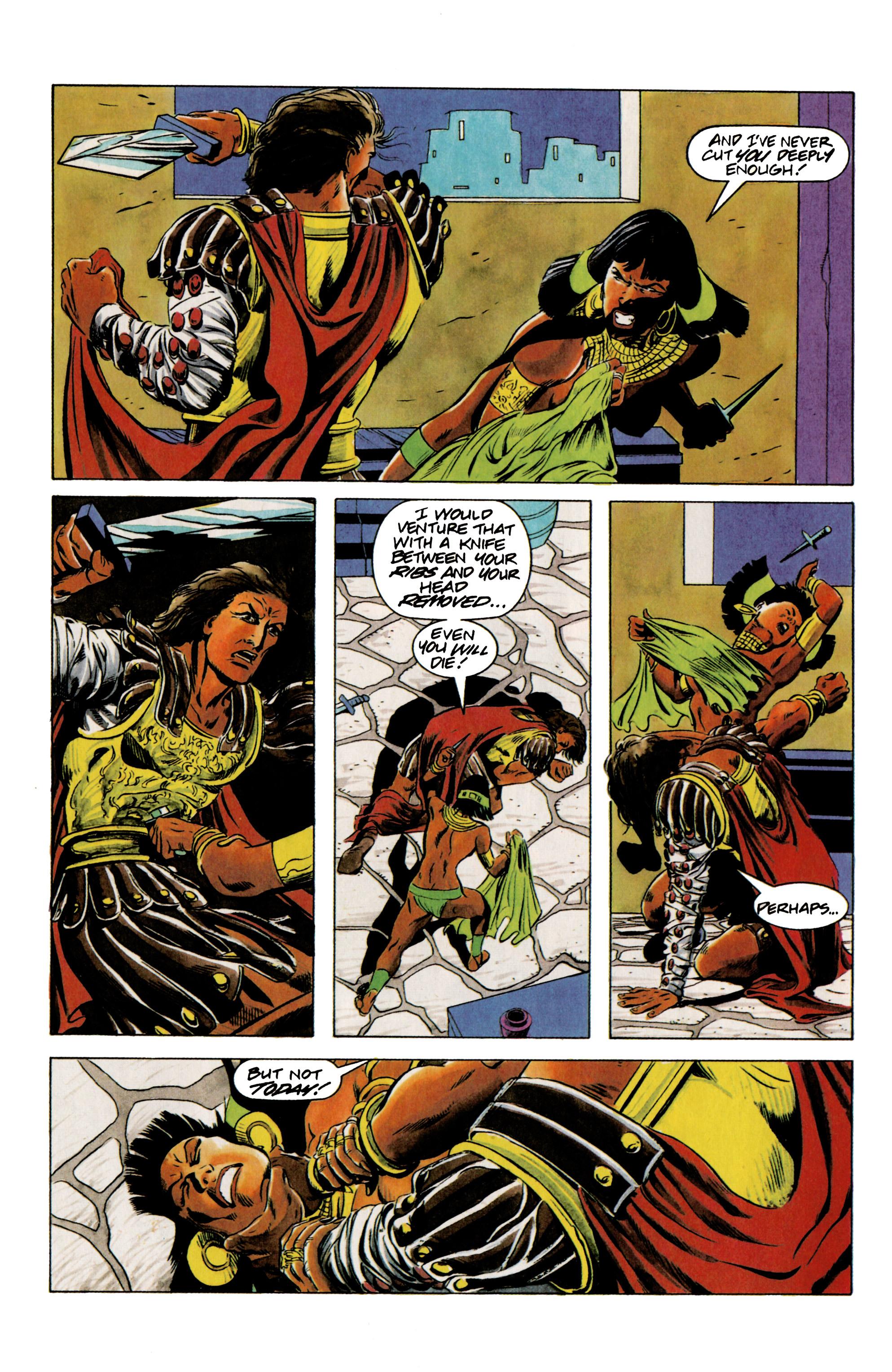 Read online Eternal Warrior (1992) comic -  Issue #12 - 5