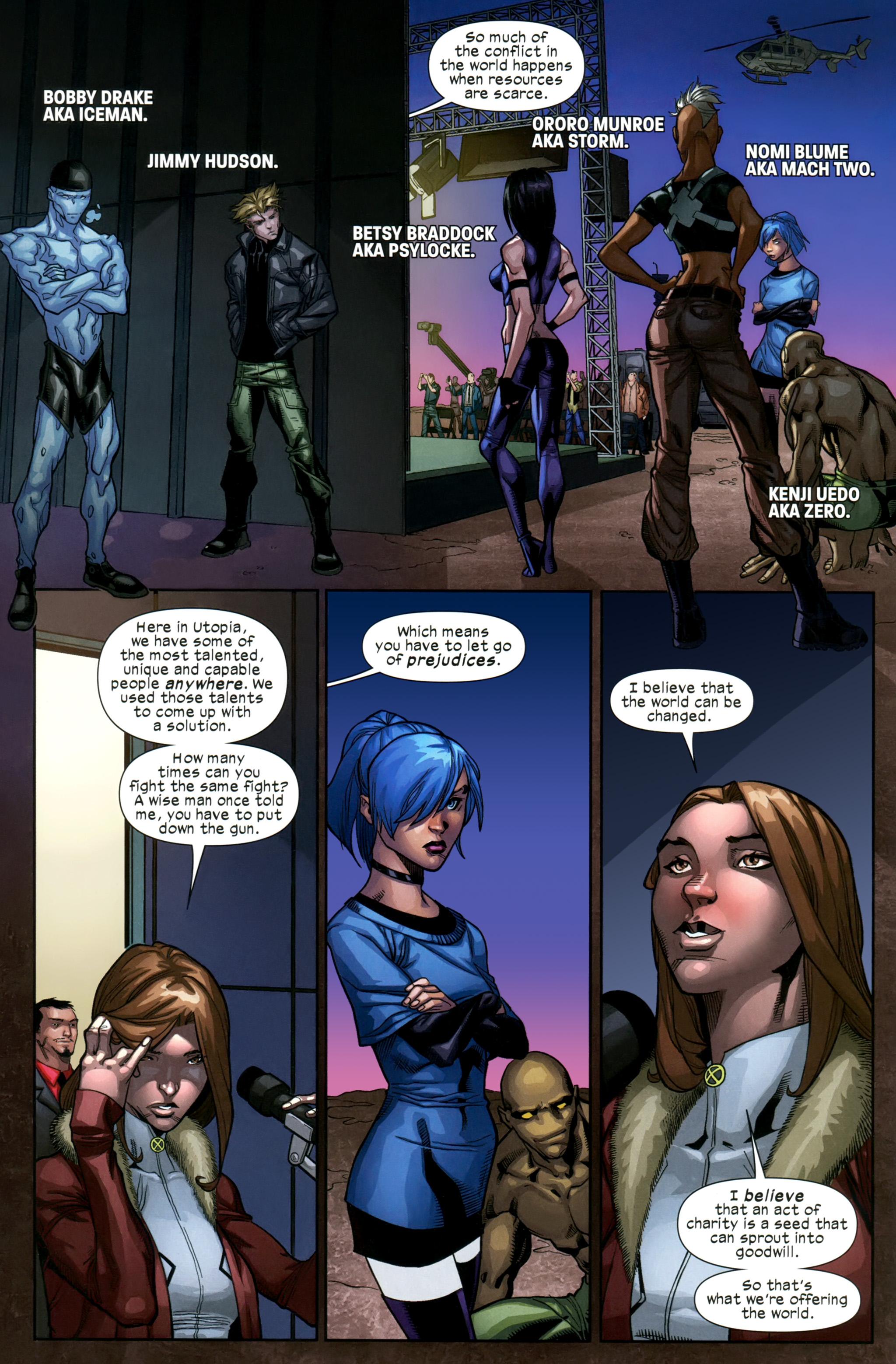 Read online Ultimate Comics X-Men comic -  Issue #21 - 5