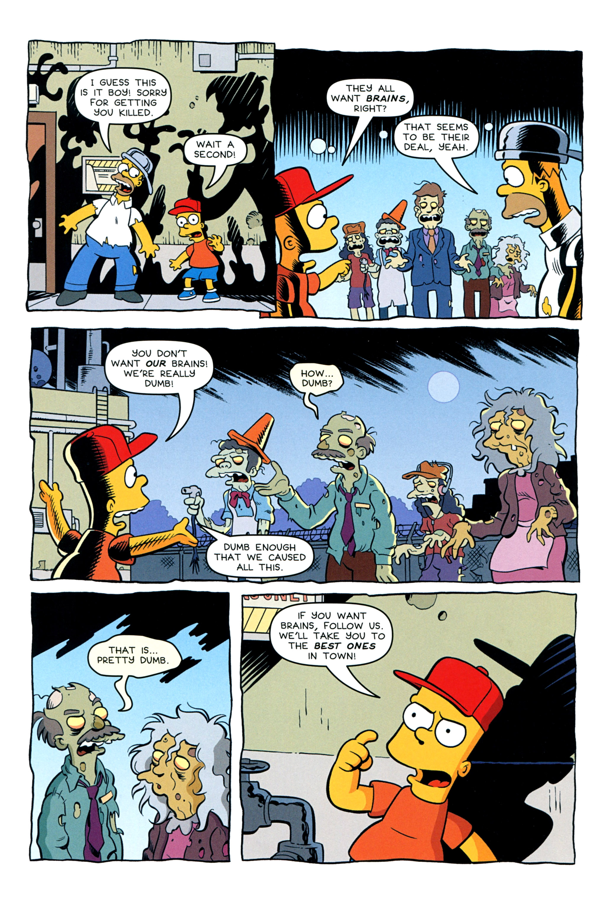 Read online Treehouse of Horror comic -  Issue #20 - 46