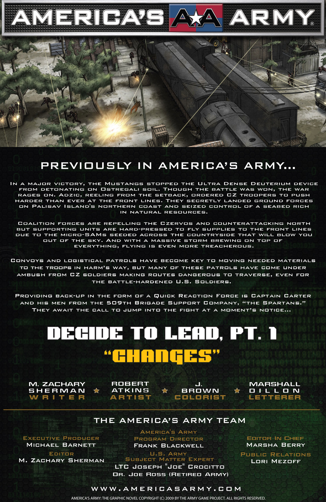 Read online America's Army comic -  Issue #13 - 2