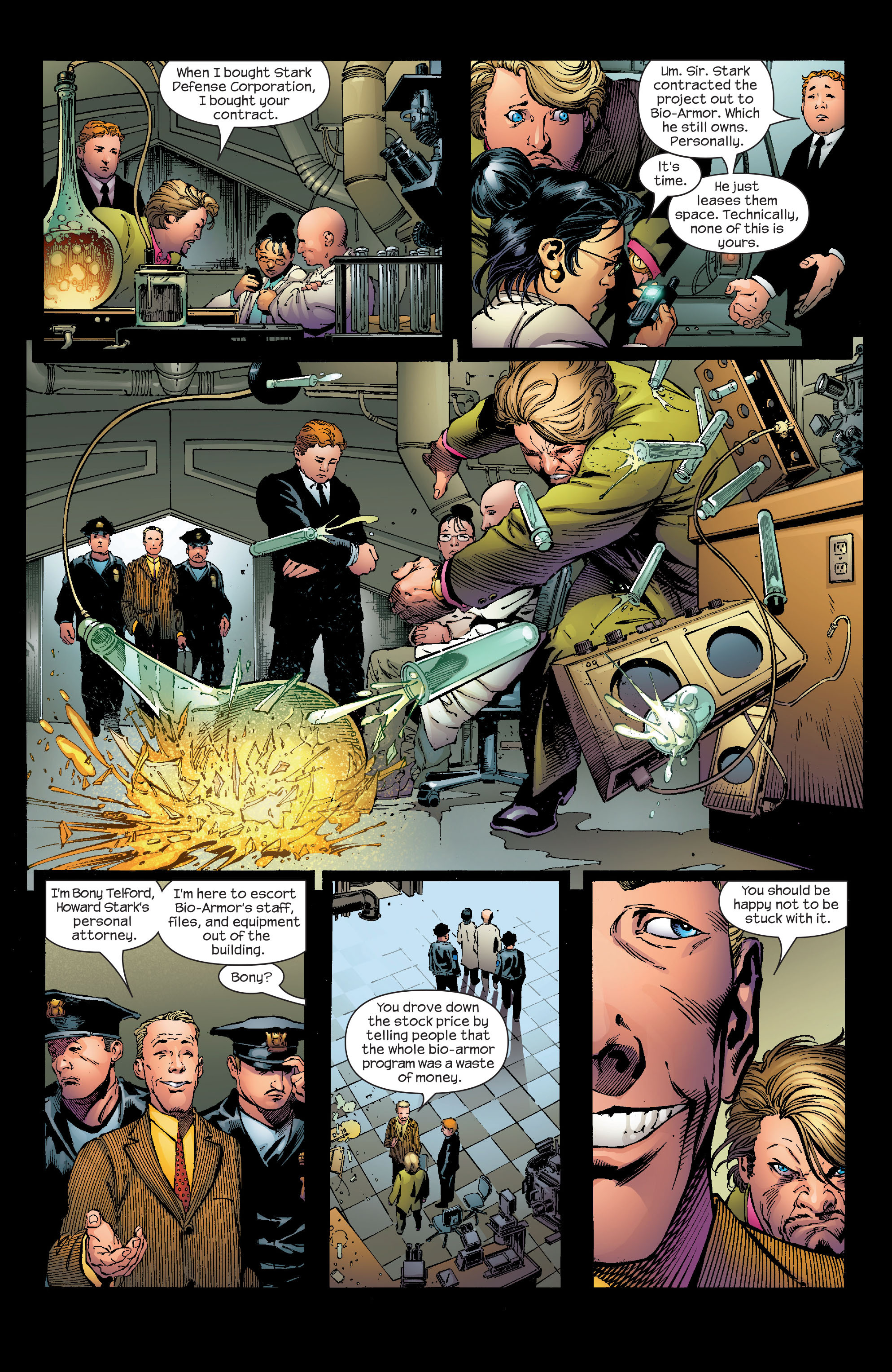 Read online Ultimate Iron Man (2005) comic -  Issue #2 - 10