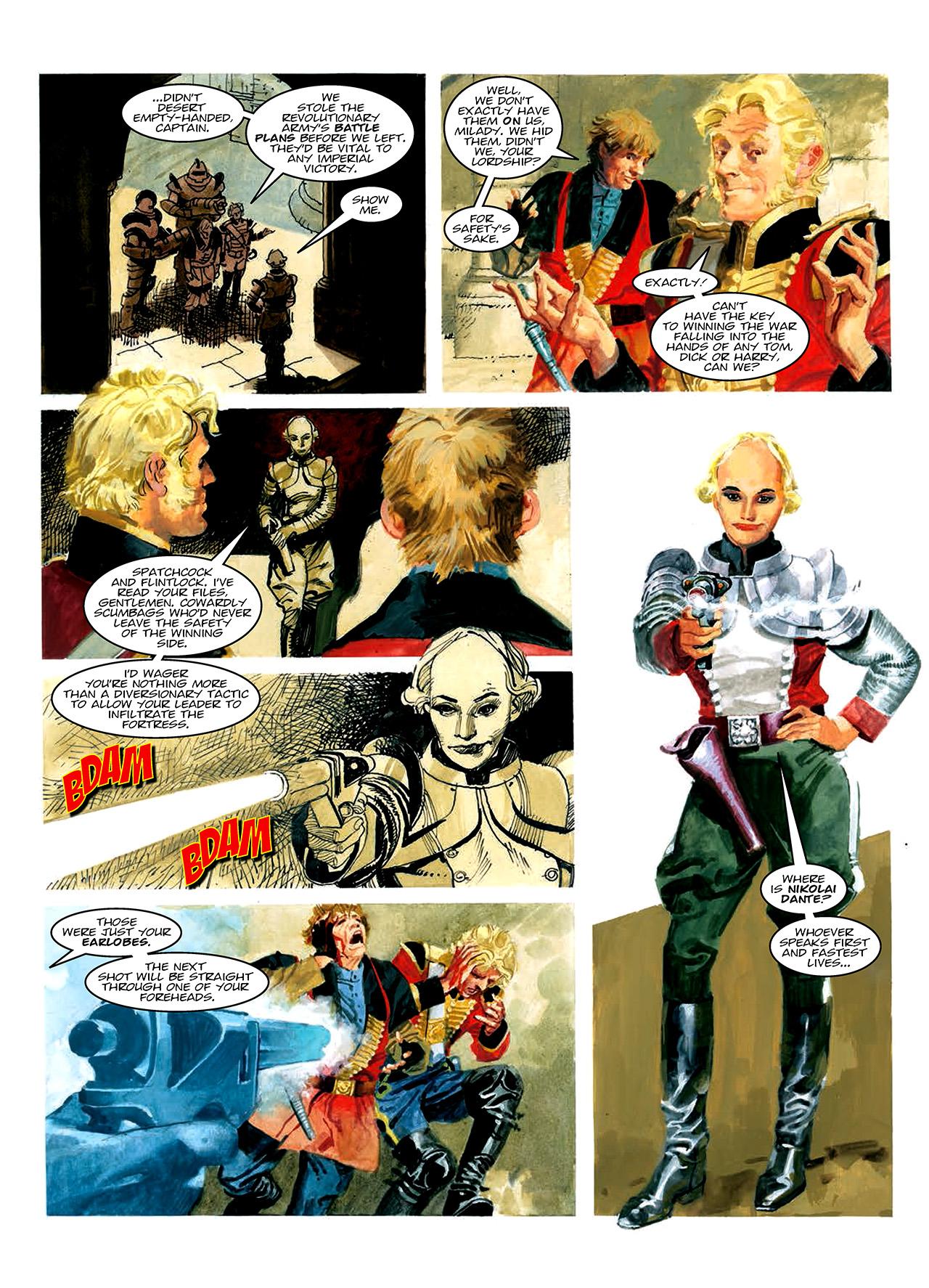 Read online Nikolai Dante comic -  Issue # TPB 10 - 54