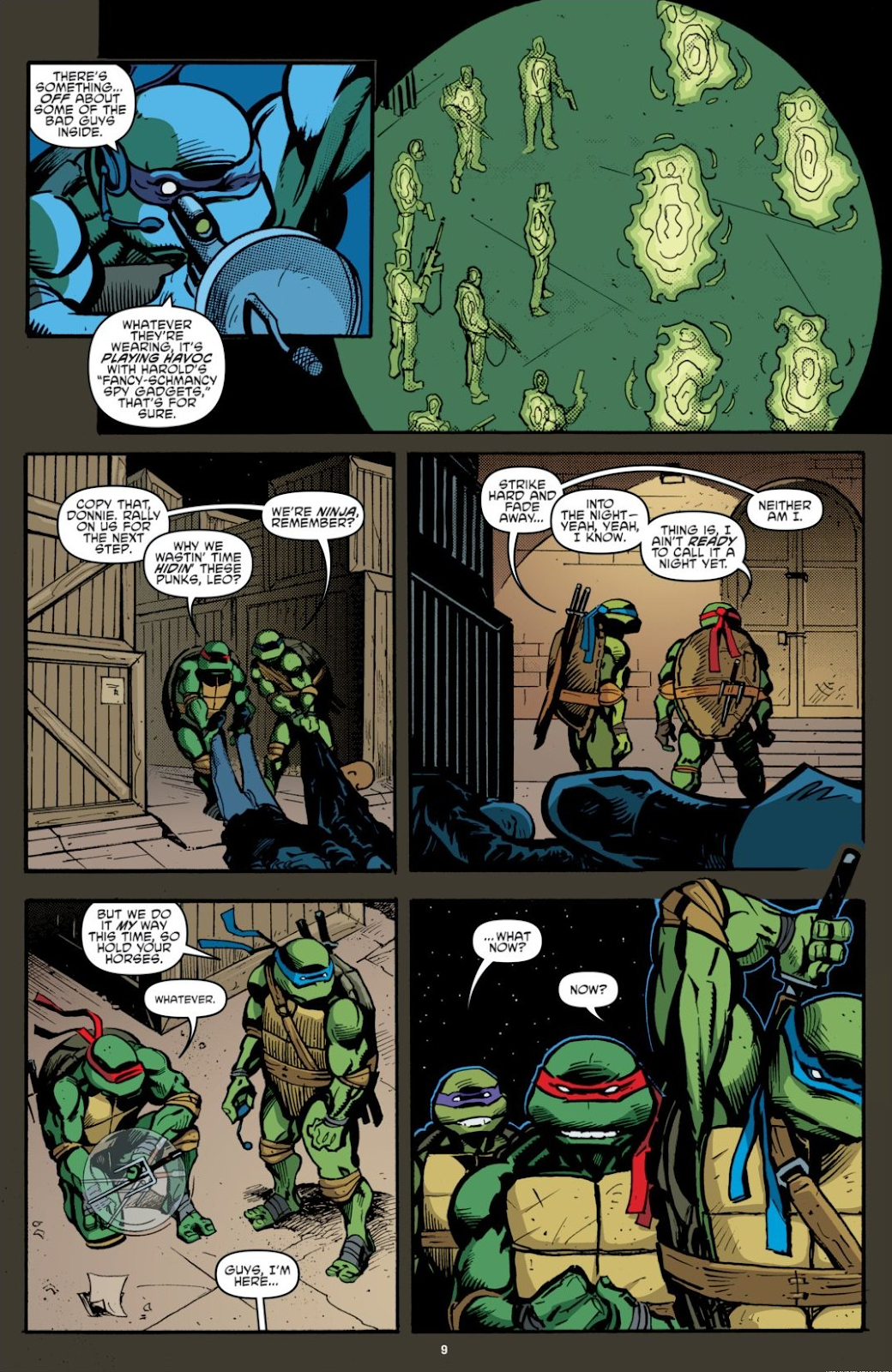 Read online Teenage Mutant Ninja Turtles: The IDW Collection comic -  Issue # TPB 7 (Part 1) - 9