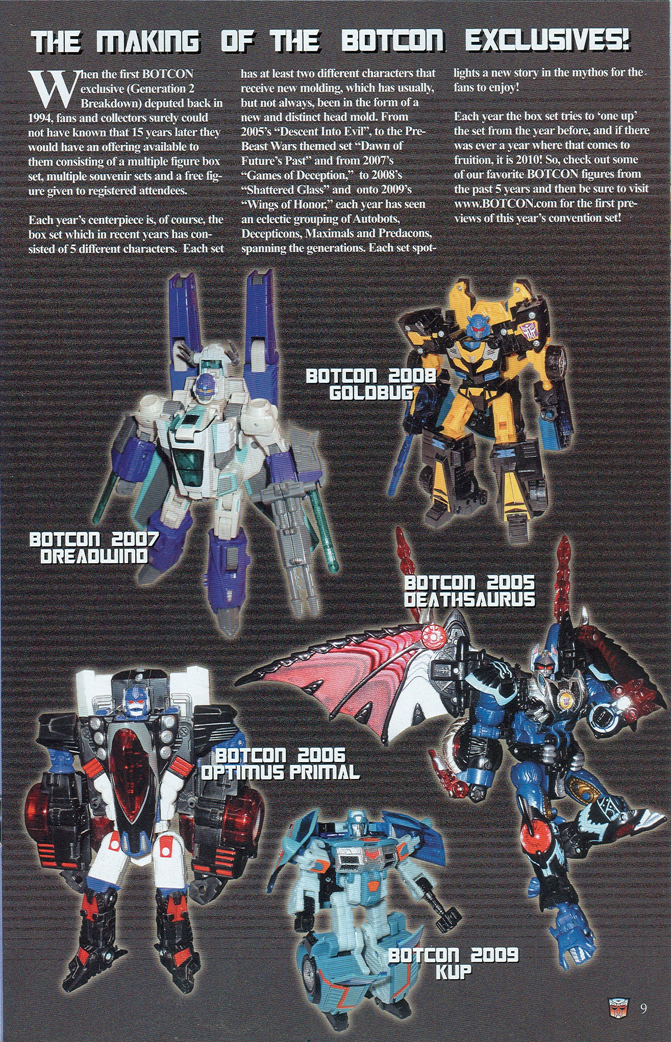Read online Transformers: Collectors' Club comic -  Issue #32 - 9