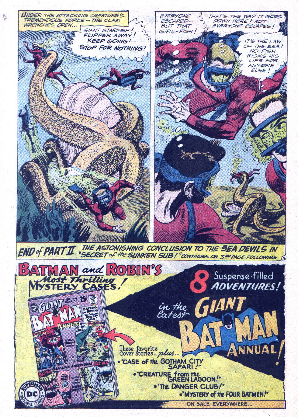 Read online Sea Devils comic -  Issue #15 - 21