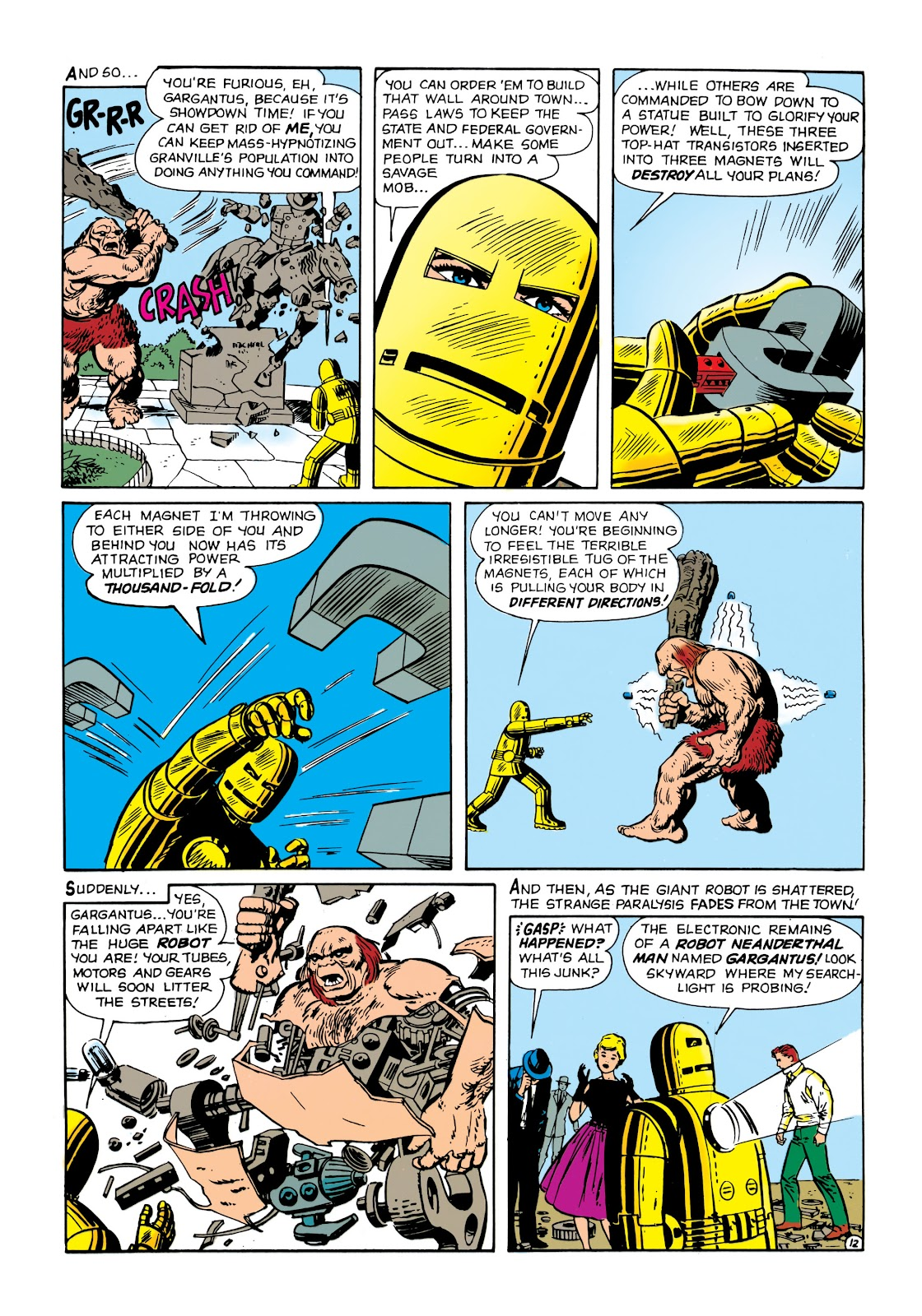 Read online Marvel Masterworks: The Invincible Iron Man comic -  Issue # TPB 1 (Part 1) - 29