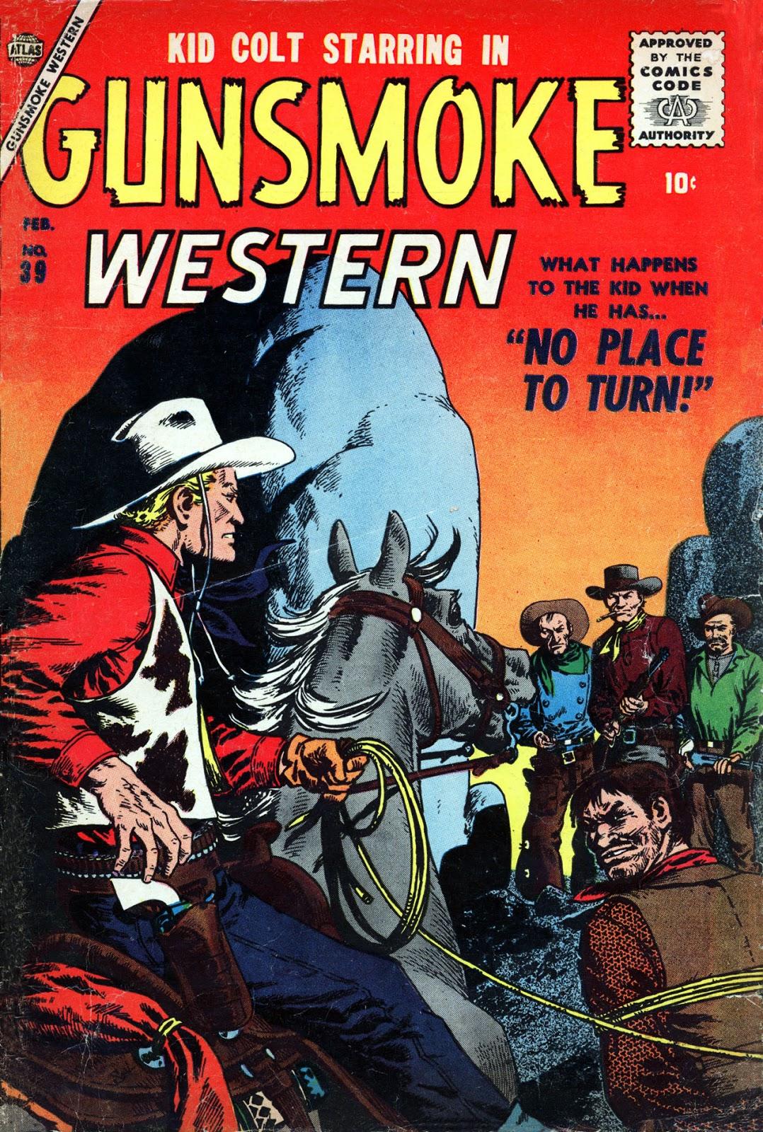 Gunsmoke Western issue 39 - Page 1
