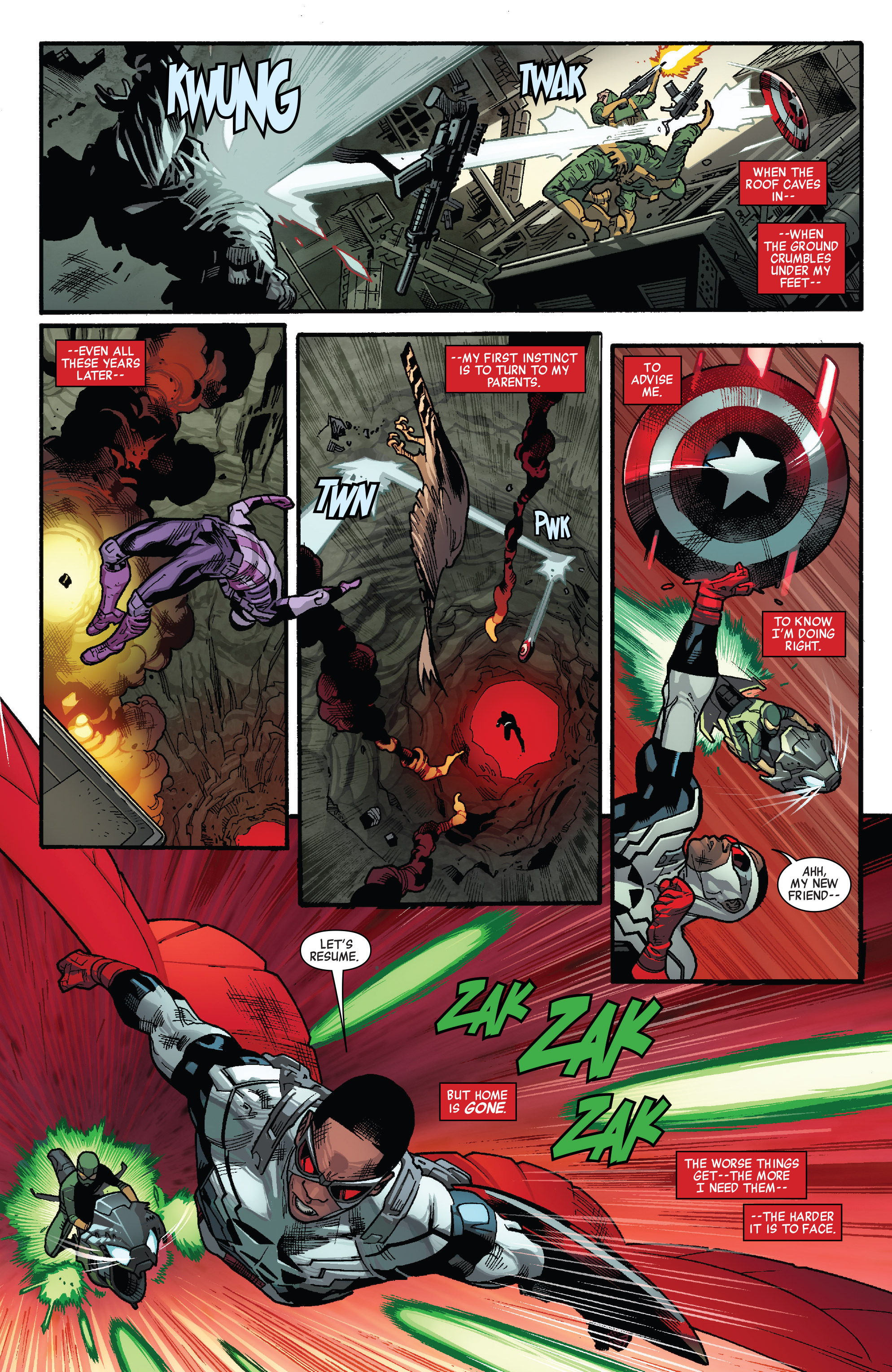 Read online All-New Captain America comic -  Issue #1 - 7