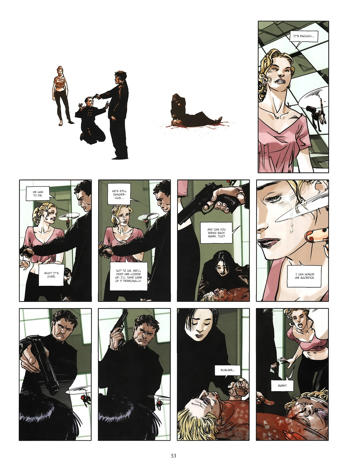 Read online Cutting Edge (2013) comic -  Issue #4 - 40