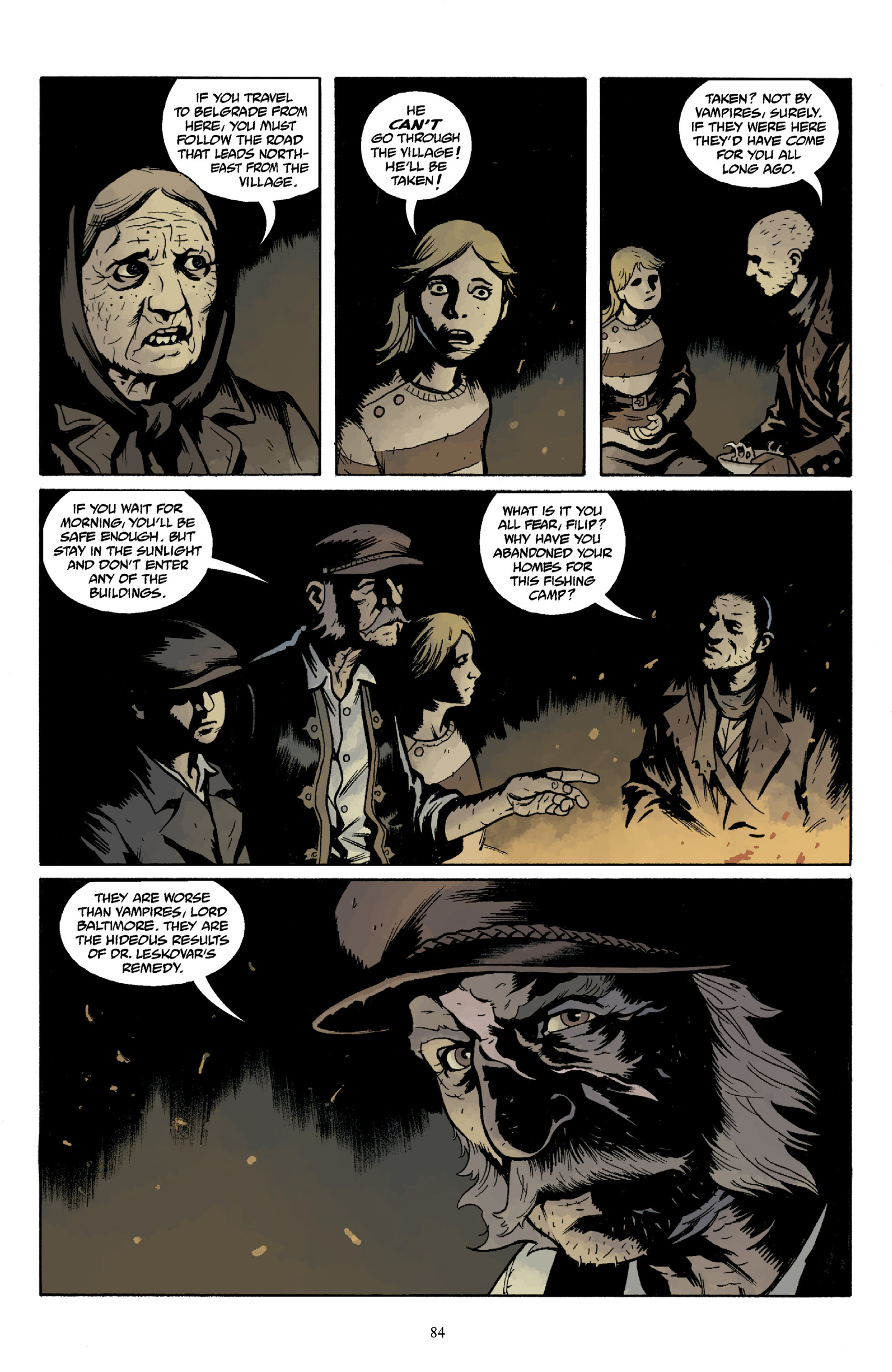 Read online Baltimore Volume 3: A Passing Stranger and Other Stories comic -  Issue # Full - 86