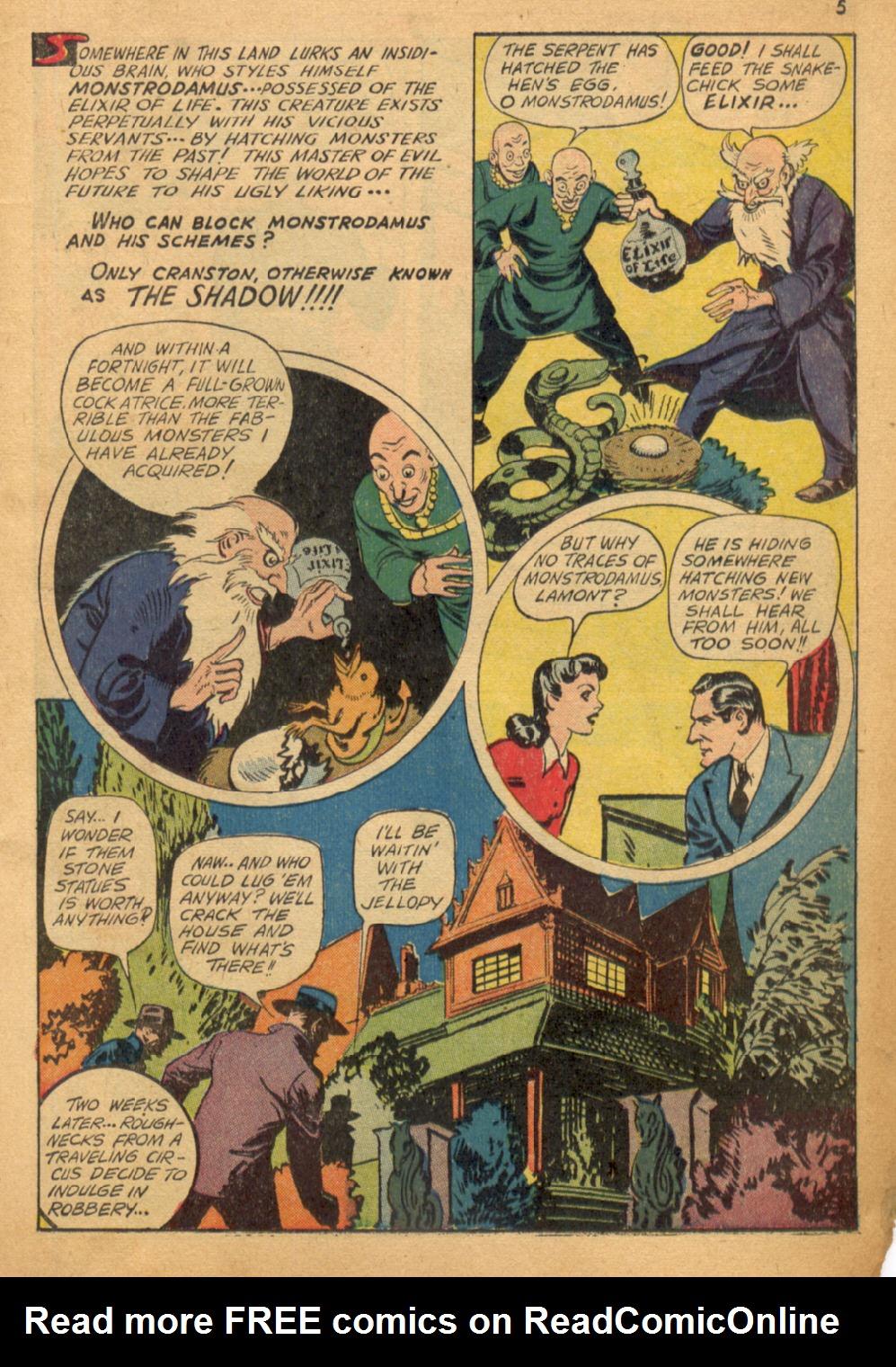 Read online Shadow Comics comic -  Issue #32 - 6