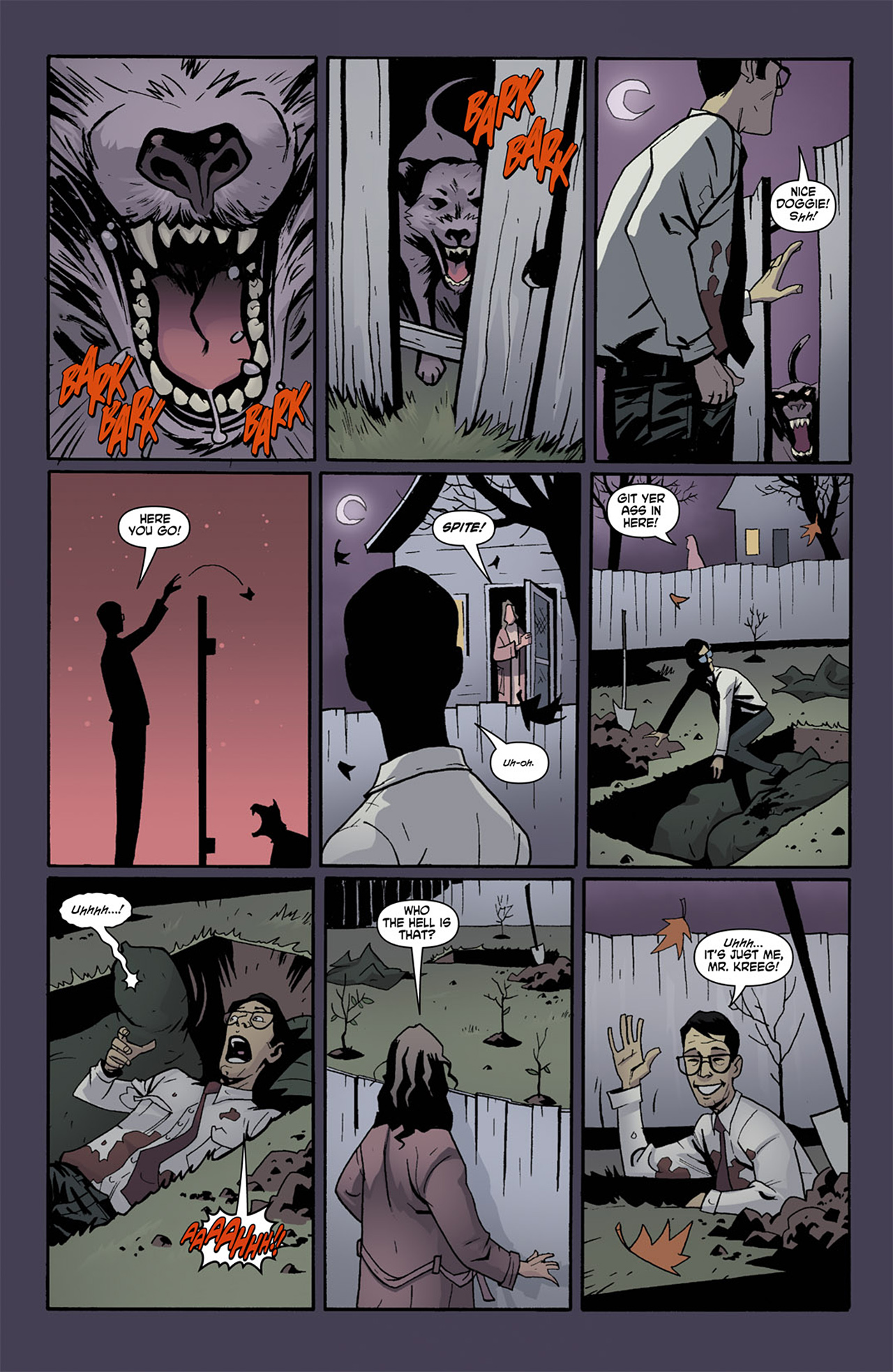 Read online Trick 'r Treat comic -  Issue #1 - 18