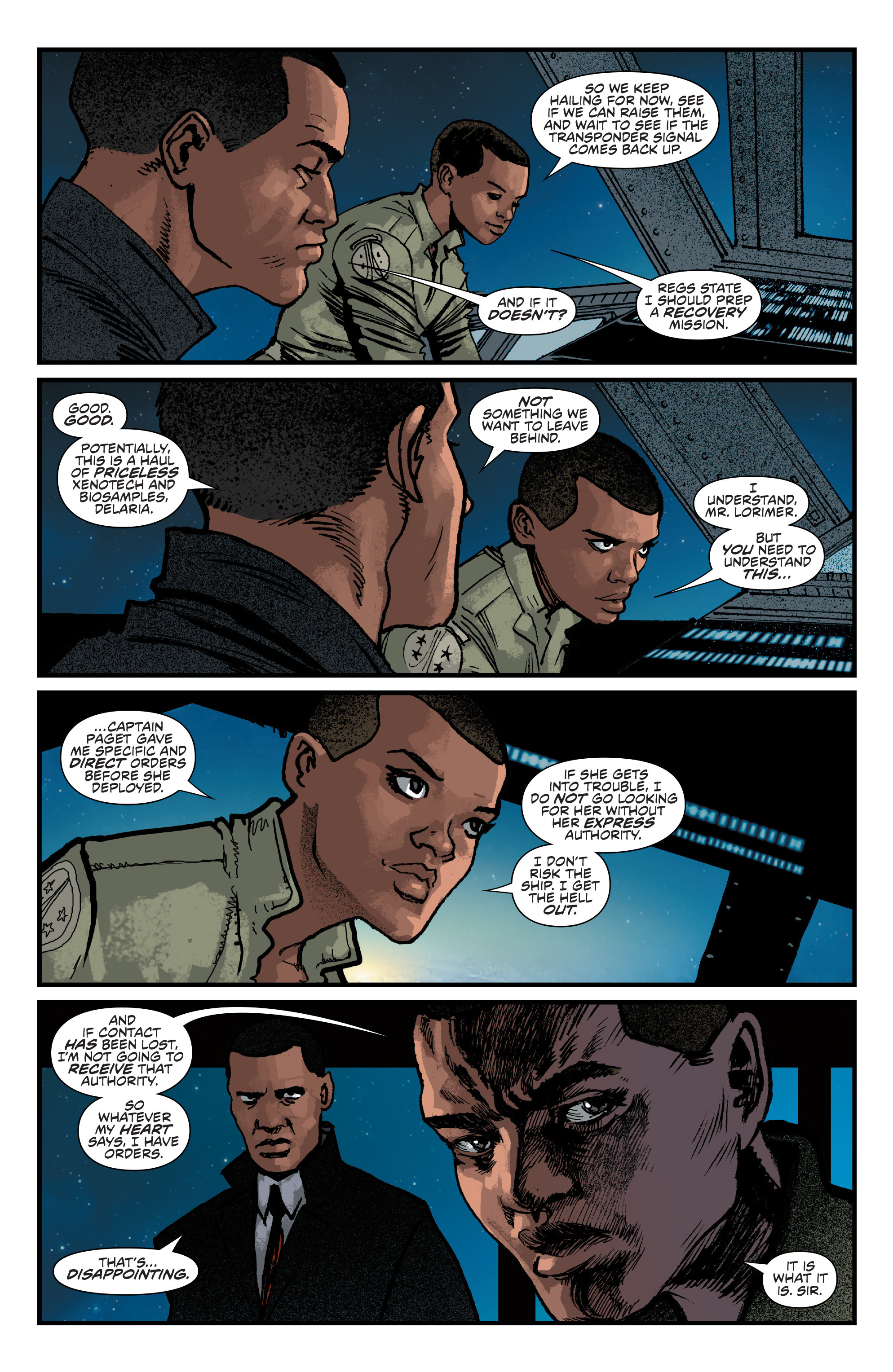 Read online Aliens: Life And Death comic -  Issue #4 - 4