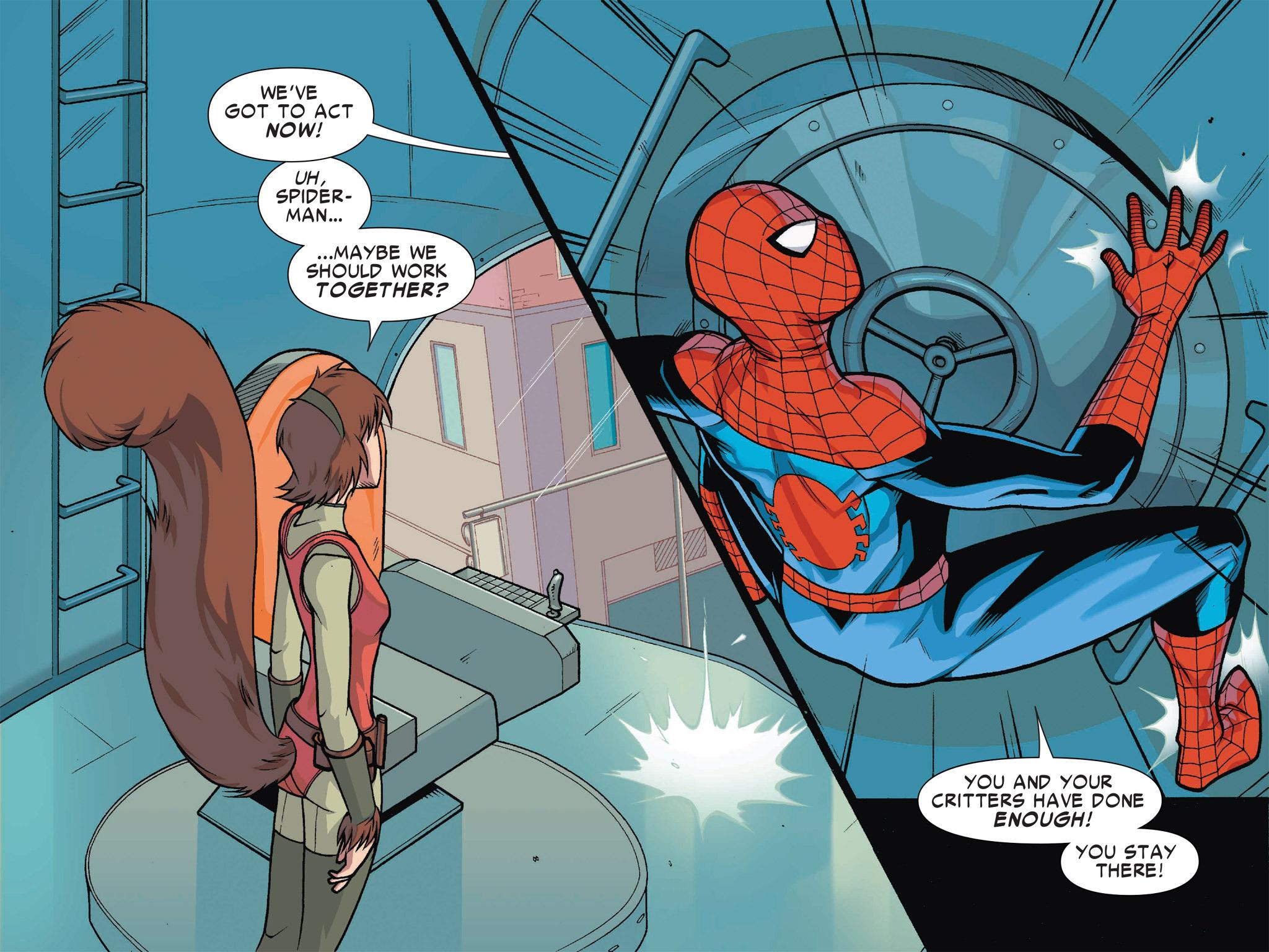 Read online Ultimate Spider-Man (Infinite Comics) (2016) comic -  Issue #1 - 27