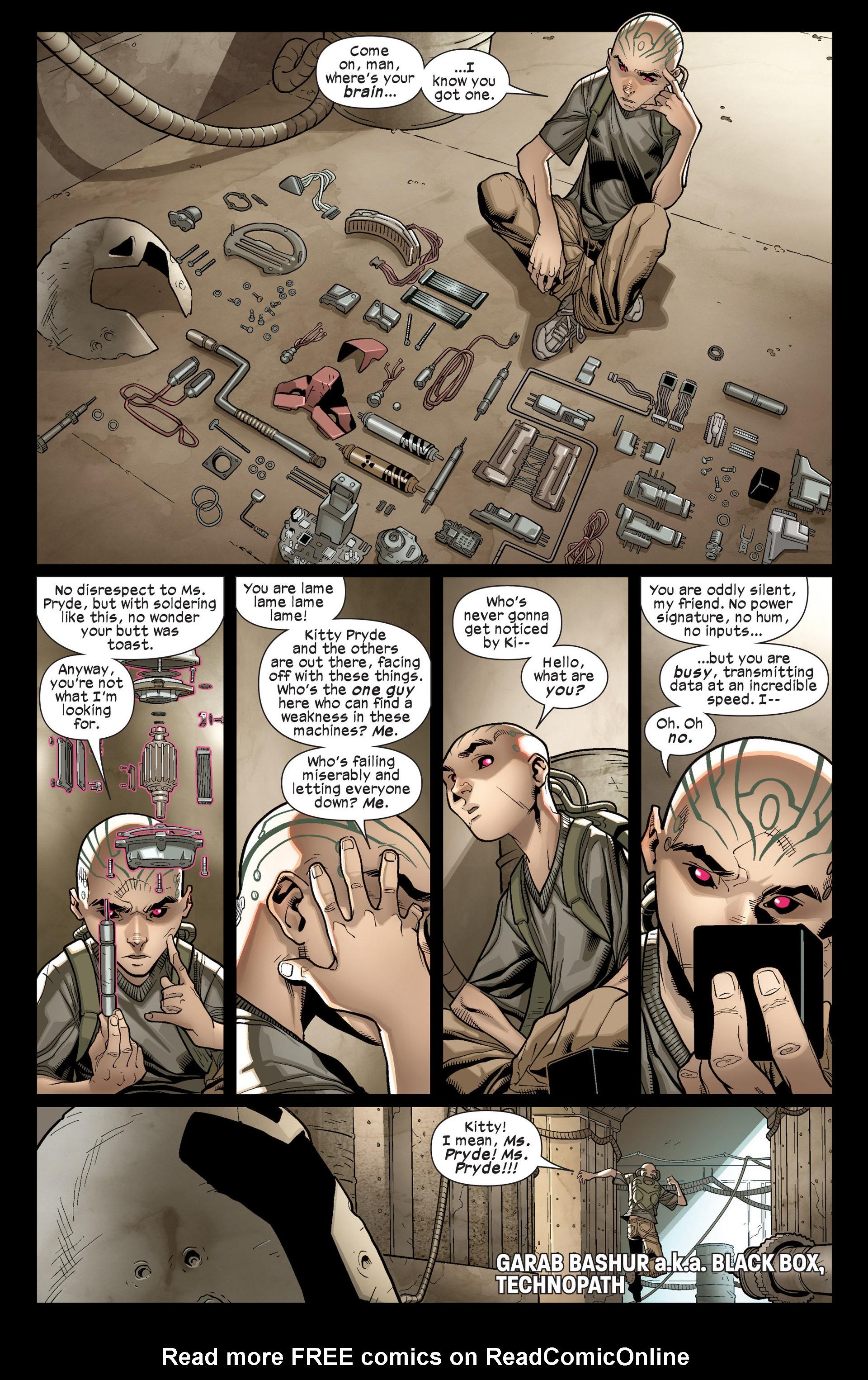 Read online Ultimate Comics X-Men comic -  Issue #17 - 8