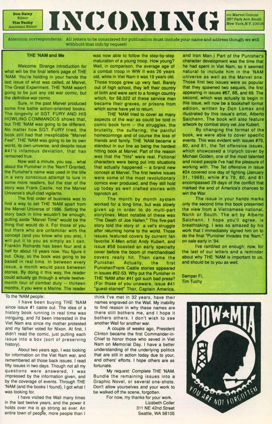 The Nam #84 #84 - English 24