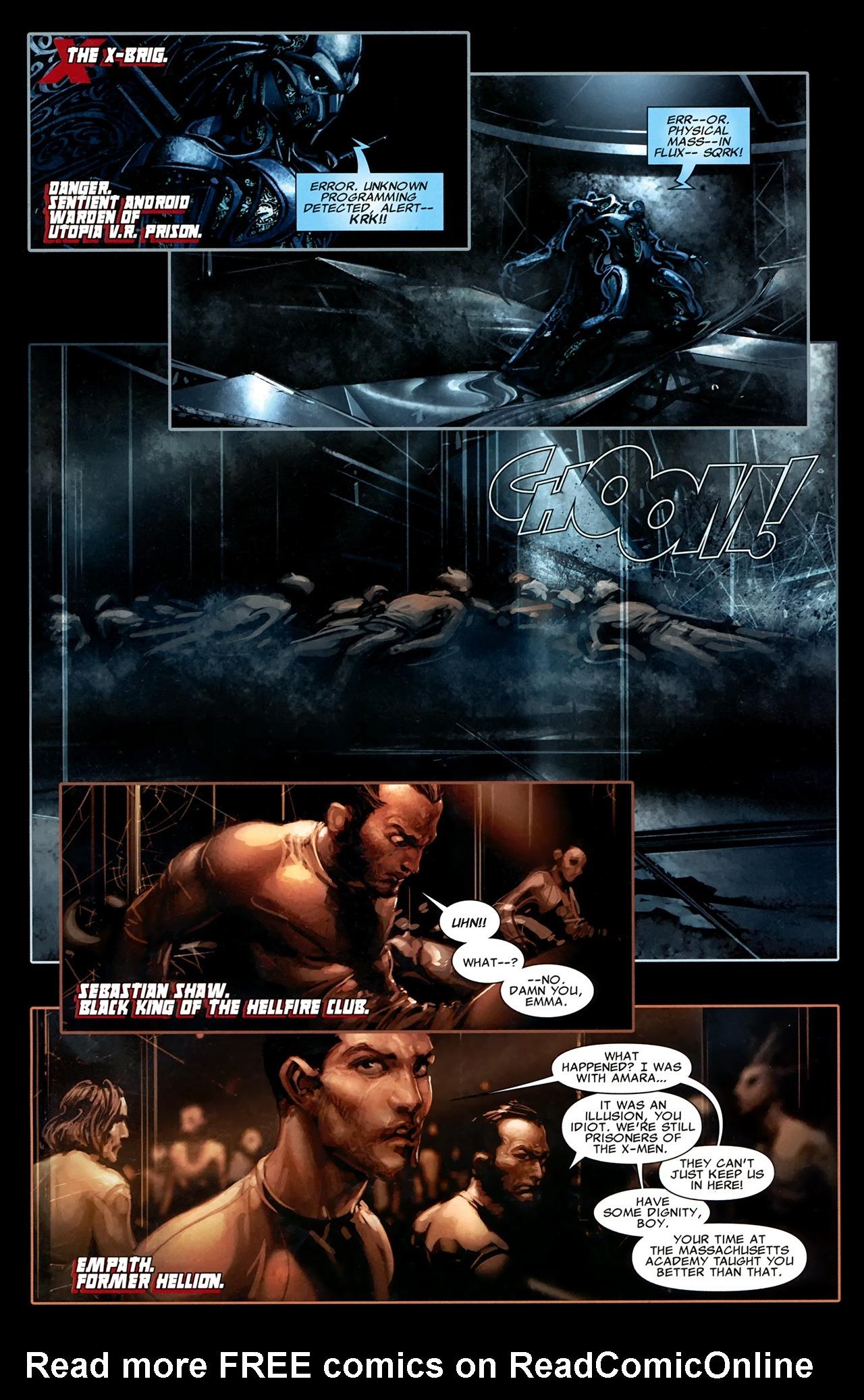 Read online X Necrosha comic -  Issue # Full - 9