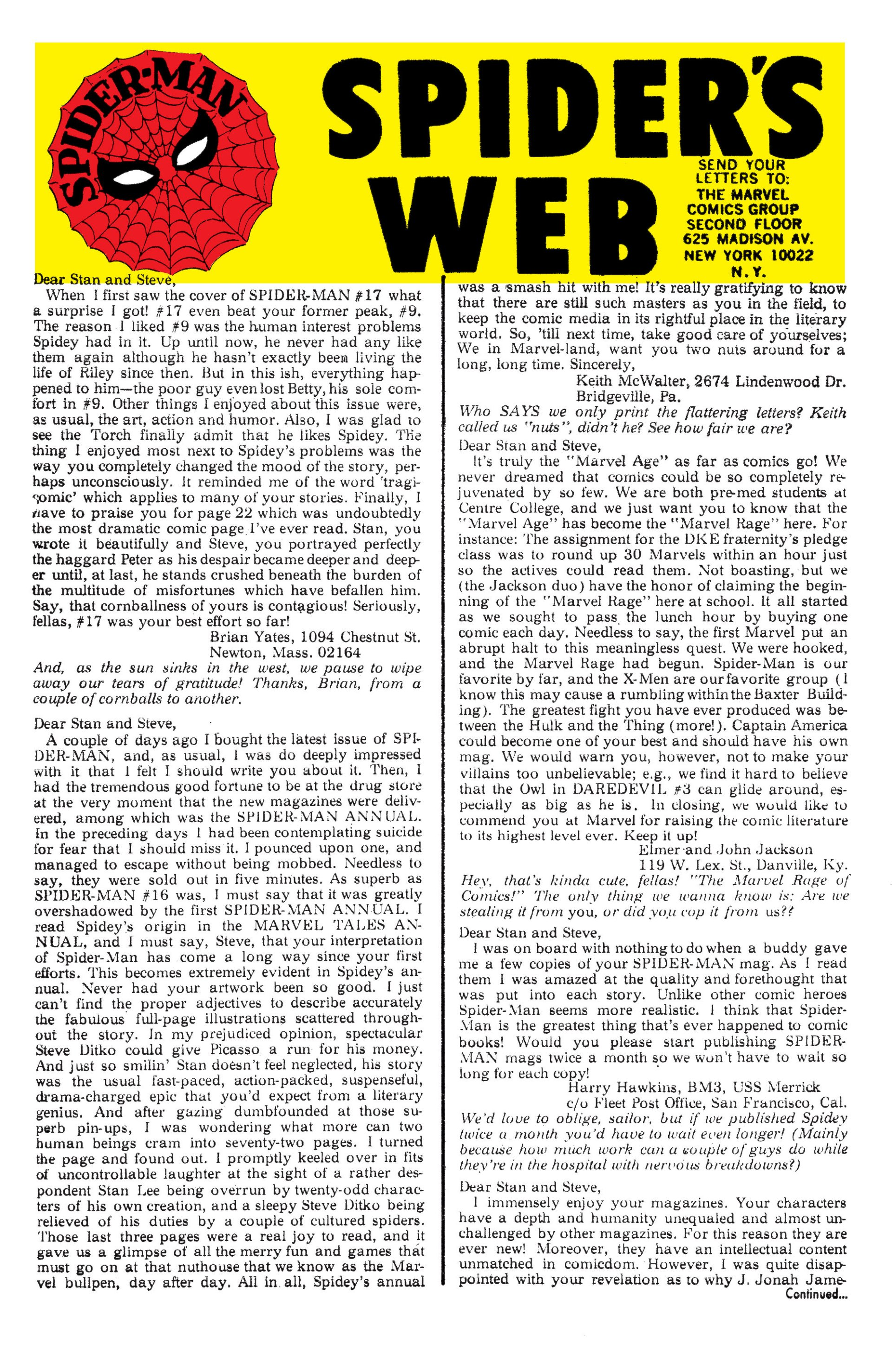 The Amazing Spider-Man (1963) 21 Page 22