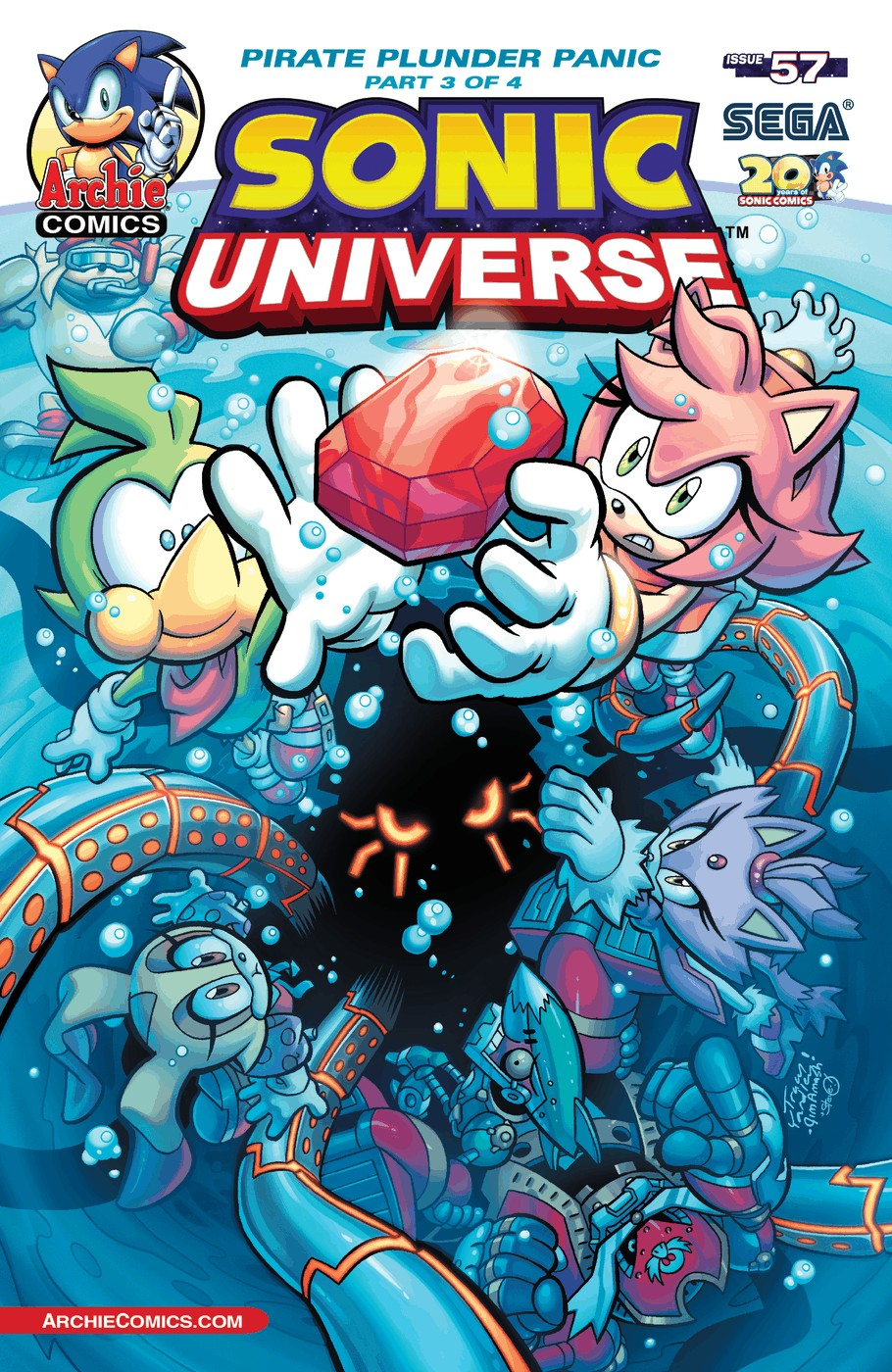 Sonic Universe 57 Page 1