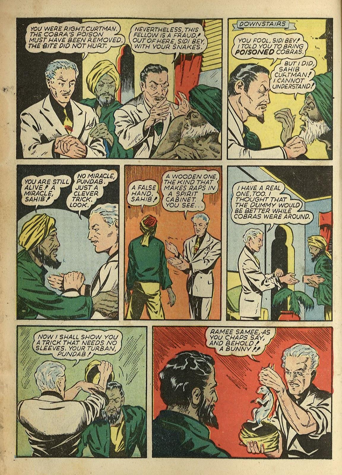 Read online Super-Magician Comics comic -  Issue #1 - 8